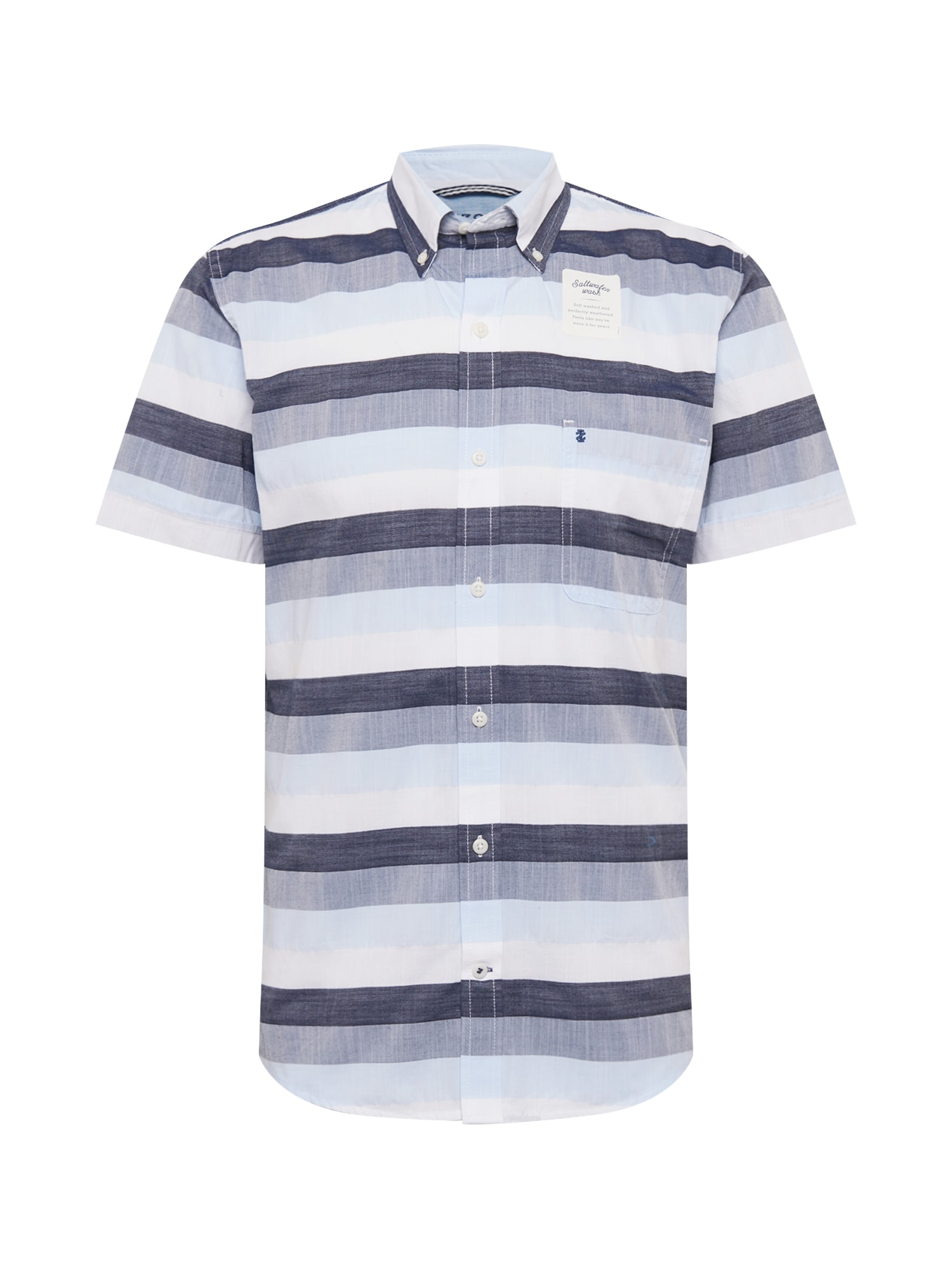 IZOD Marškiniai mėlyna / opalo / balta
