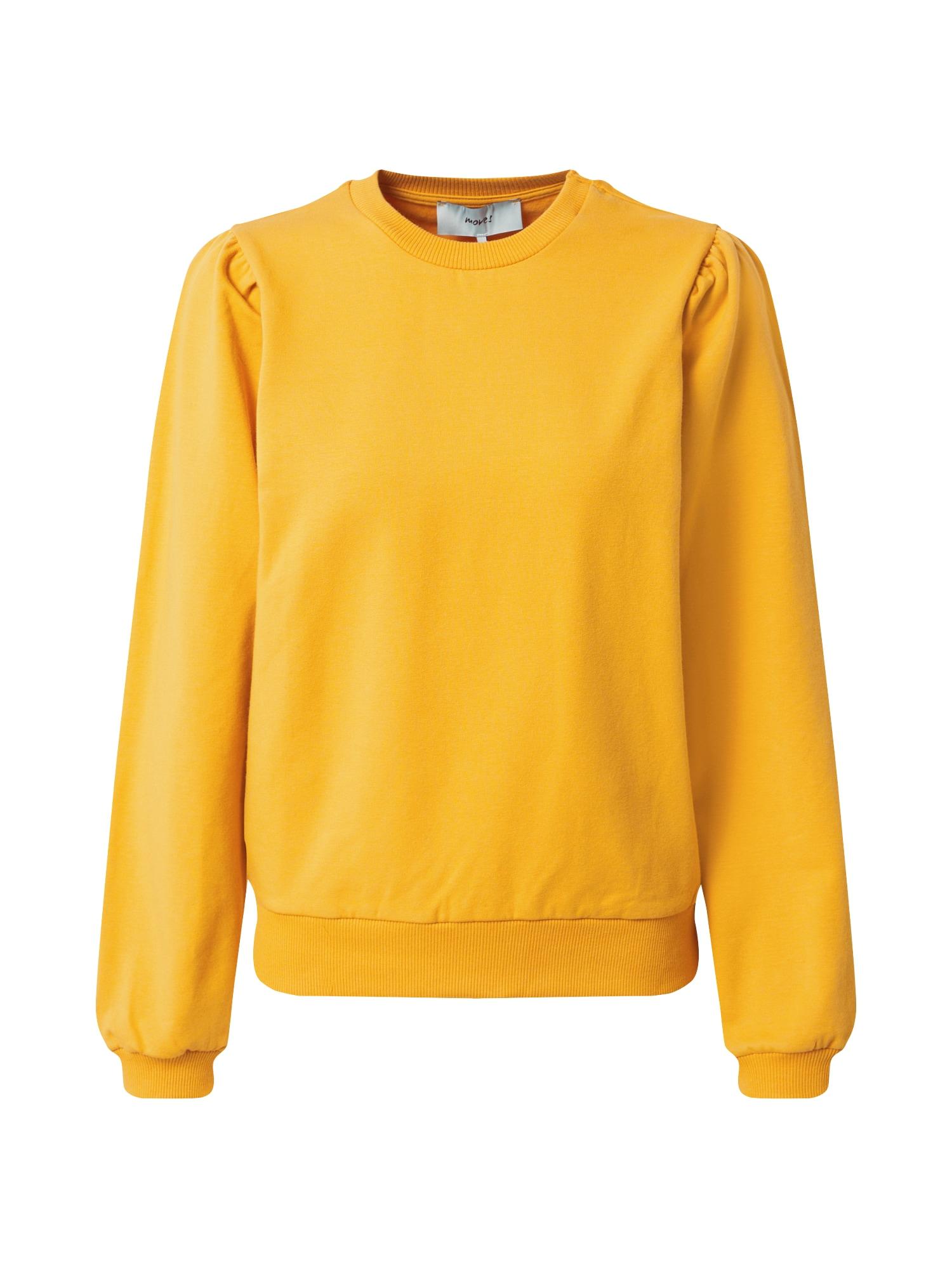 Moves Megztinis be užsegimo aukso geltonumo spalva