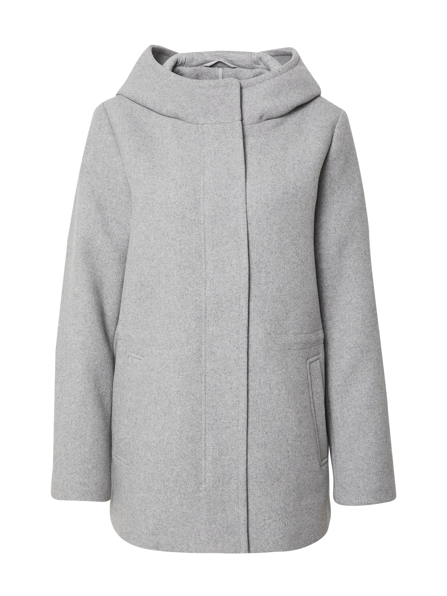 ESPRIT Demisezoninis paltas šviesiai pilka