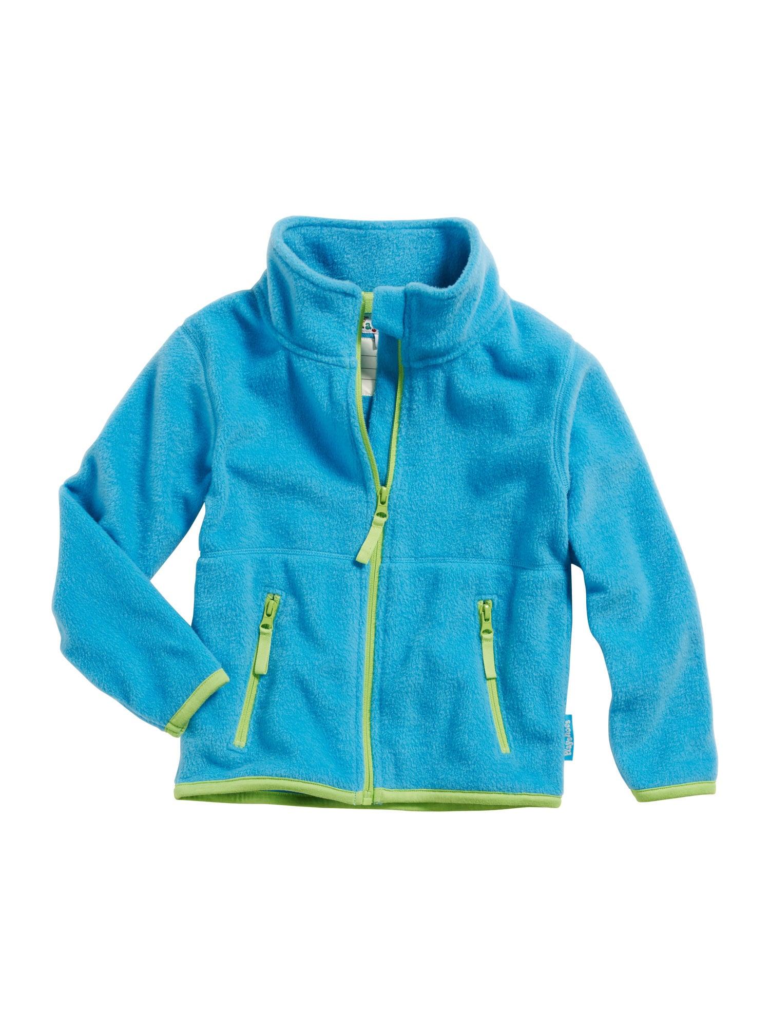 PLAYSHOES Flisinis džemperis šviesiai žalia / vandens spalva