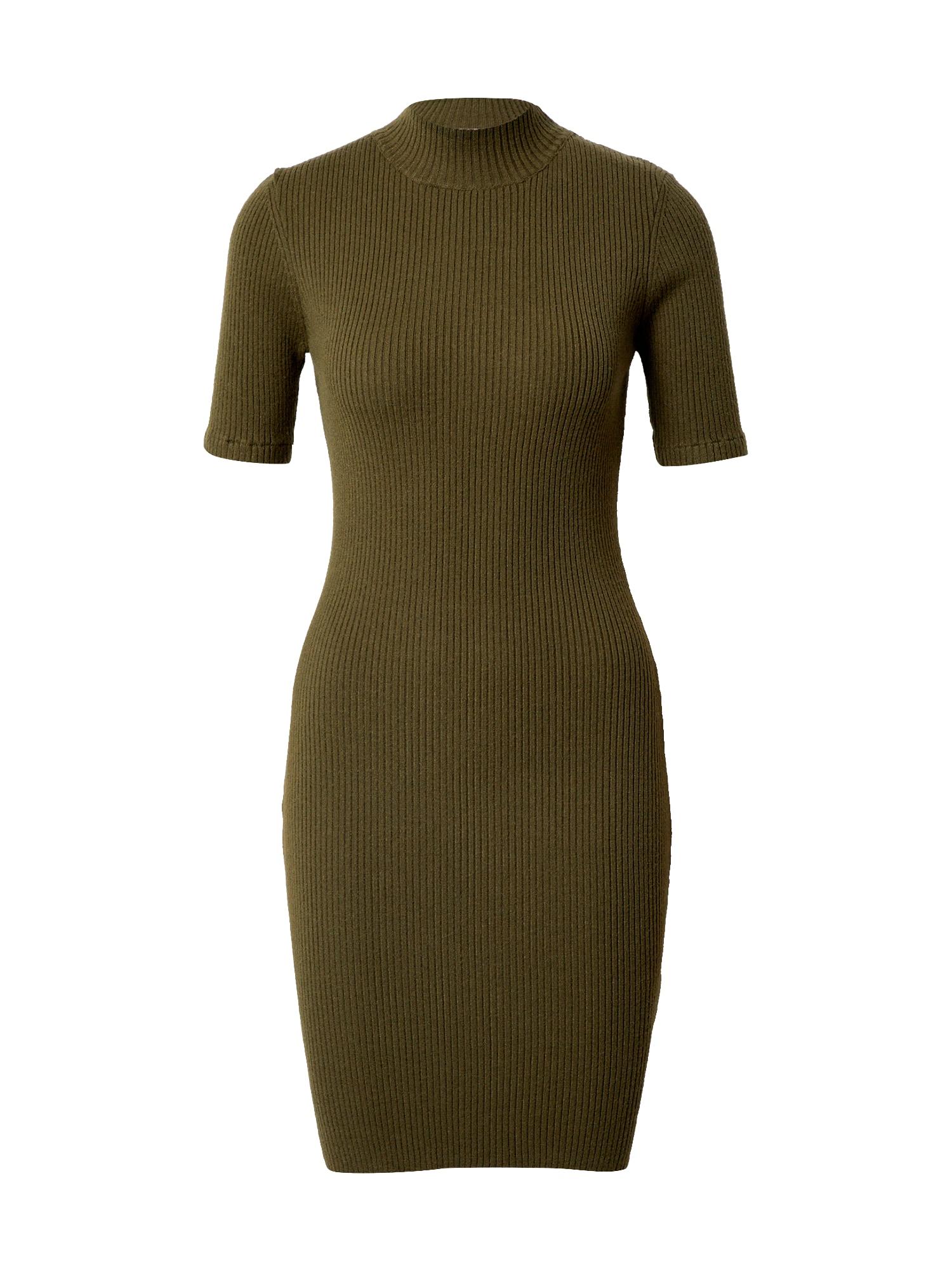 Cotton On Úpletové šaty 'Tahlia'  olivová
