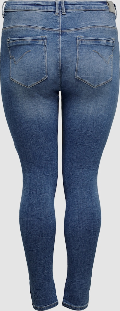 Only Carmakoma Laola Life hochtaillierte zerrissene enge Jeans