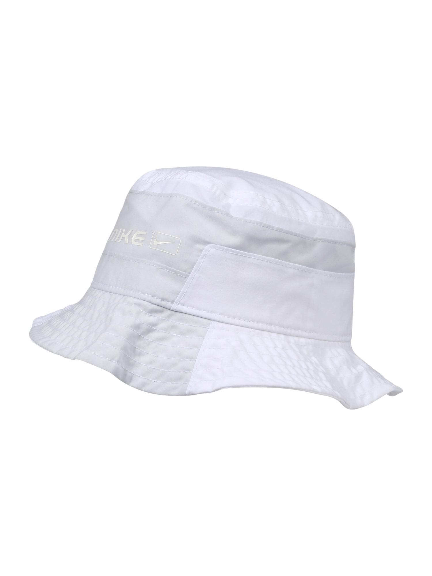 Nike Sportswear Skrybėlaitė balta / šviesiai pilka