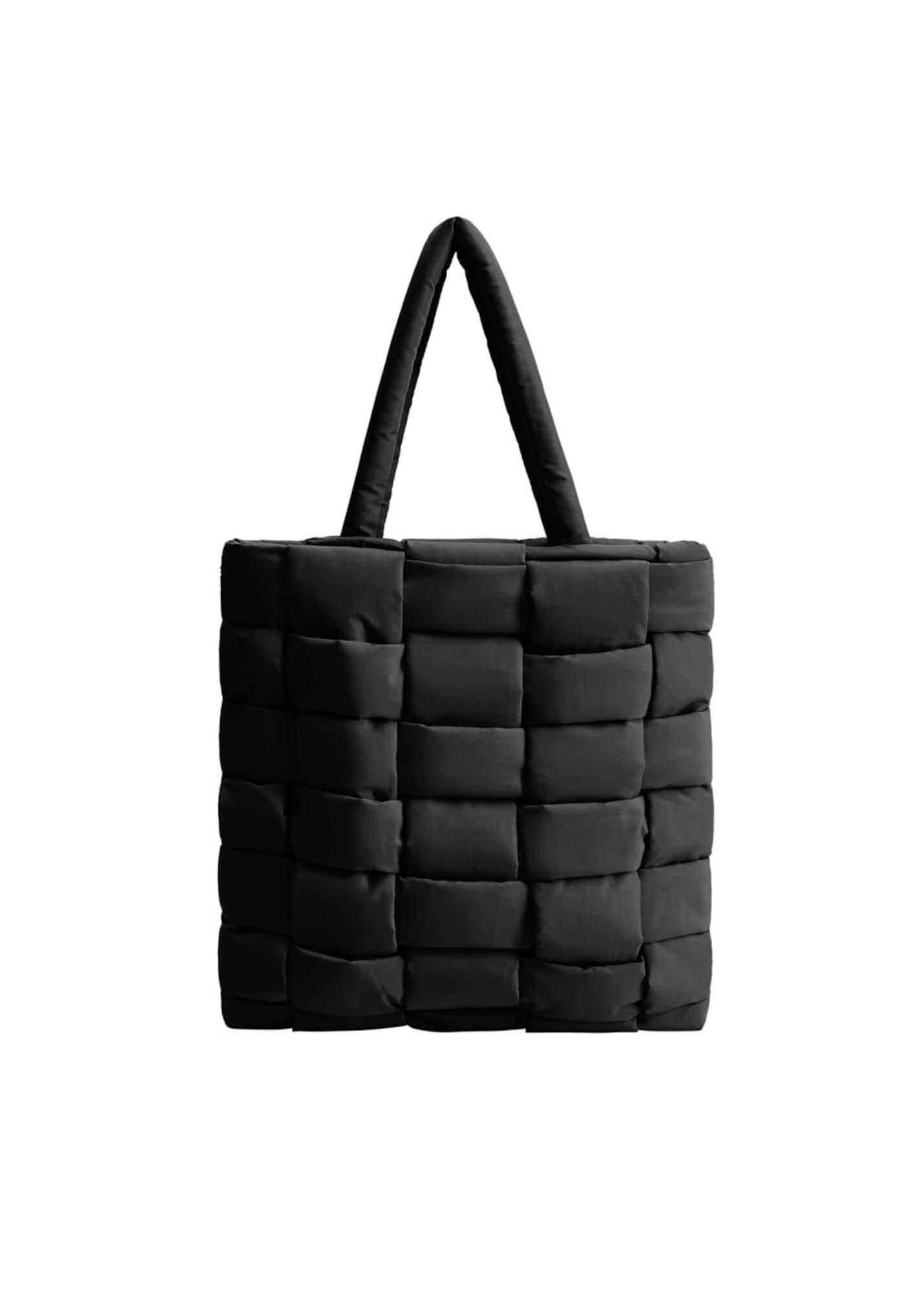 MANGO Nákupní taška  šedá