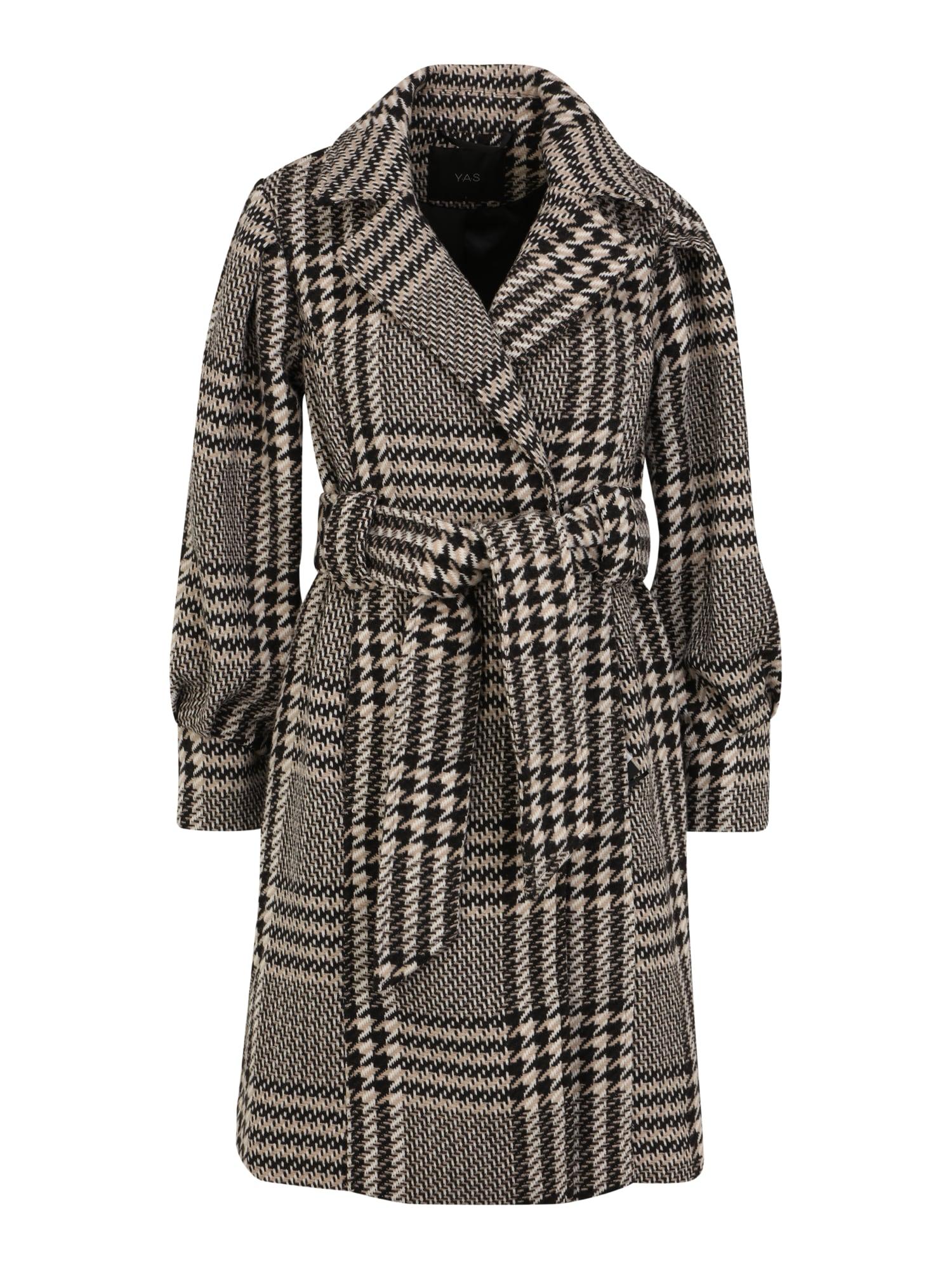 Y.A.S Petite Přechodný kabát 'PONGA'  černá / bílá