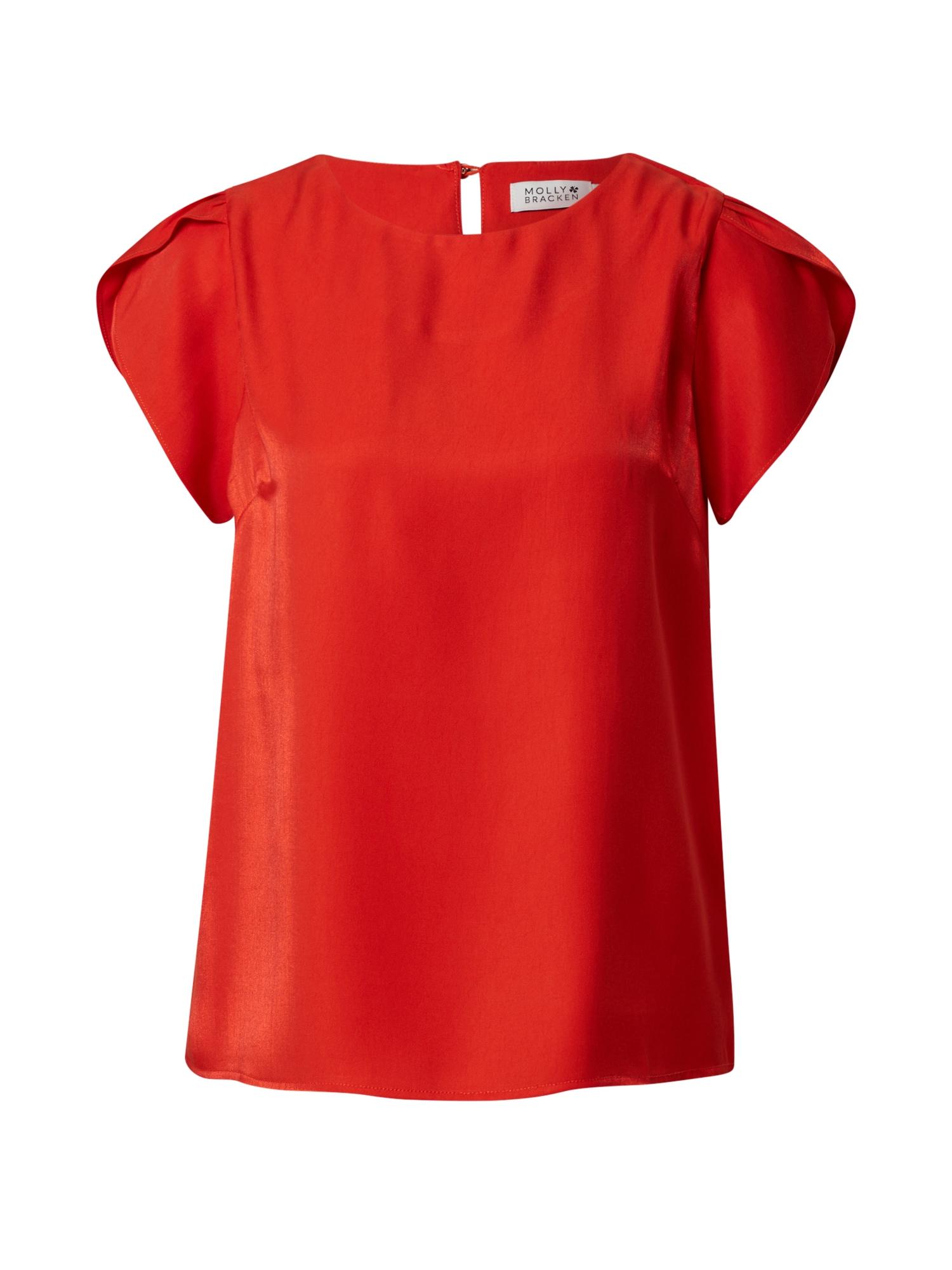 Molly BRACKEN Palaidinė oranžinė-raudona
