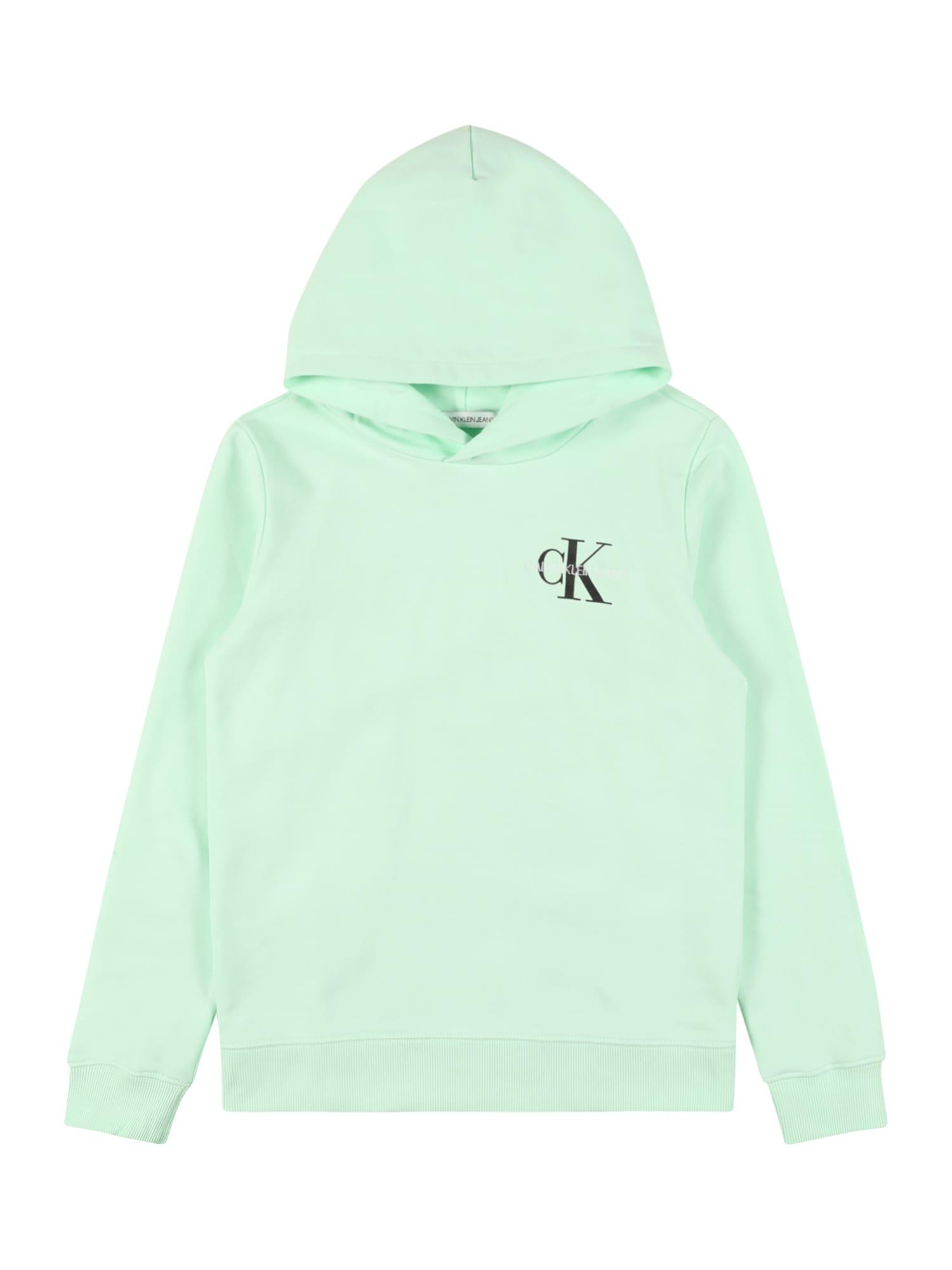 Calvin Klein Jeans Megztinis be užsegimo mėtų spalva