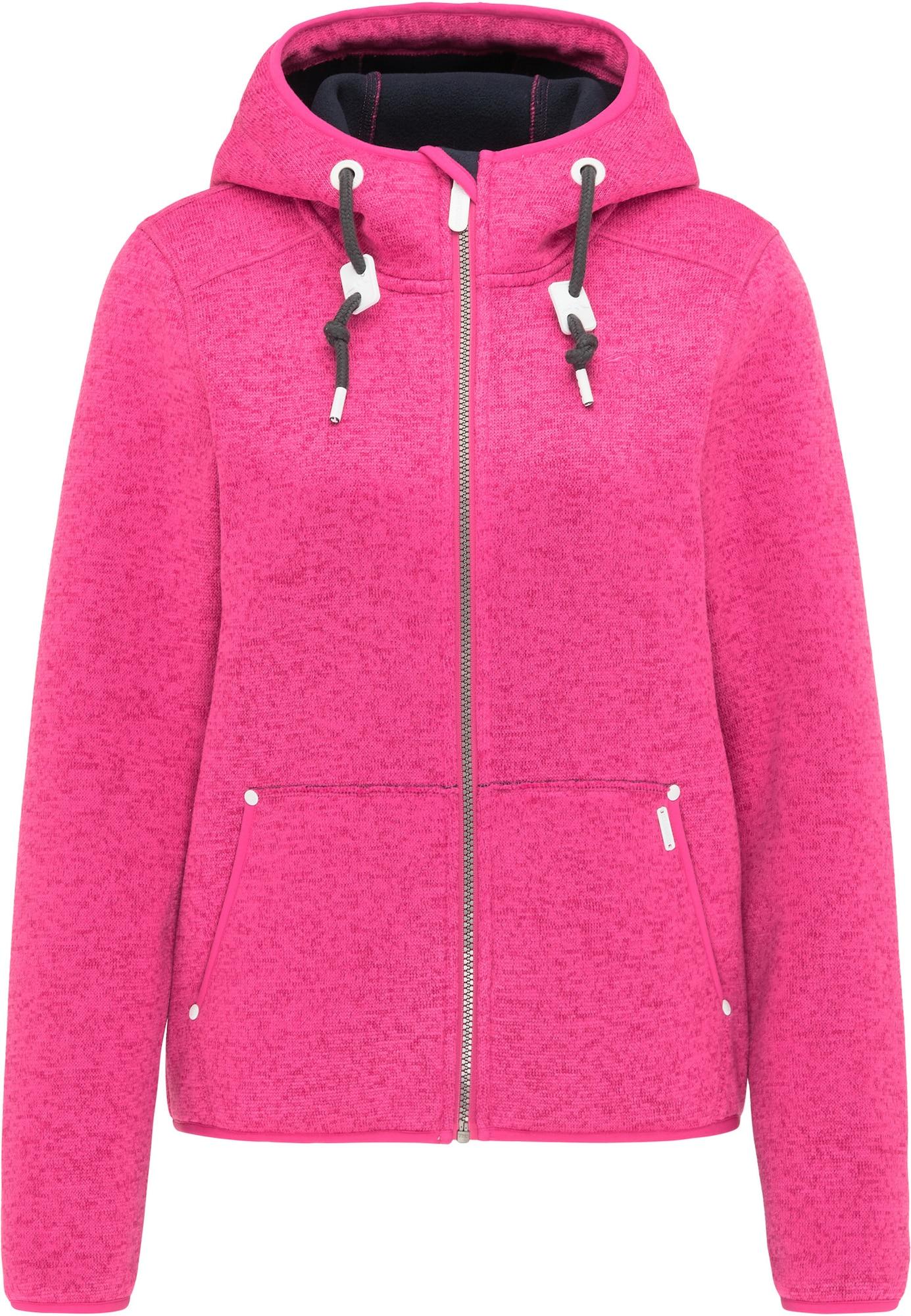 ICEBOUND Flisinis džemperis margai rožinė