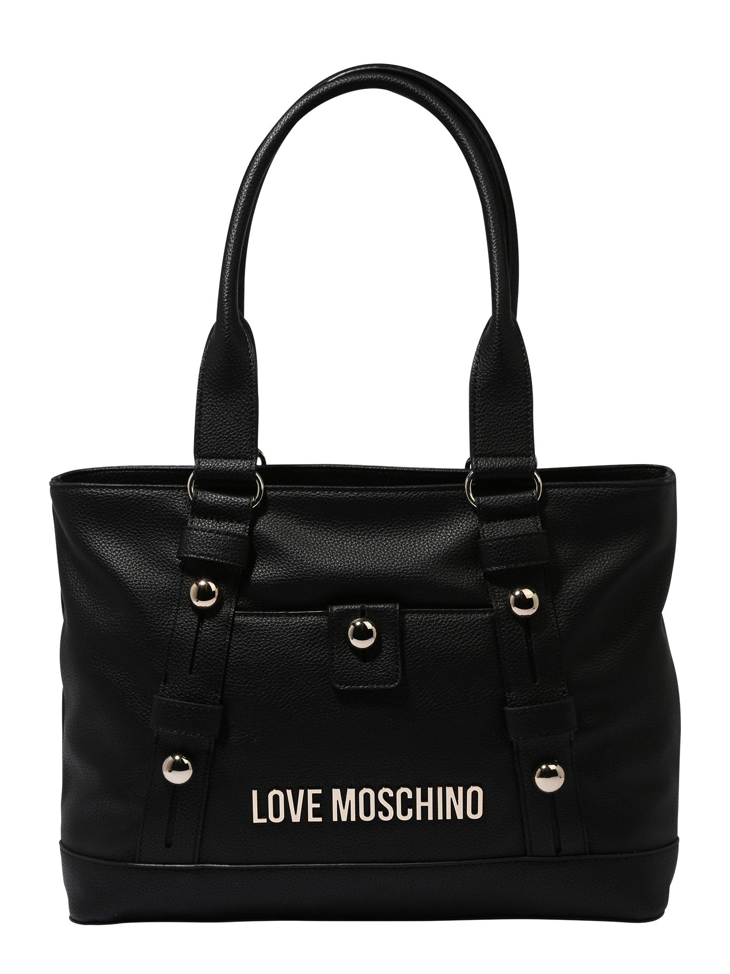 Love Moschino Pirkinių krepšys juoda