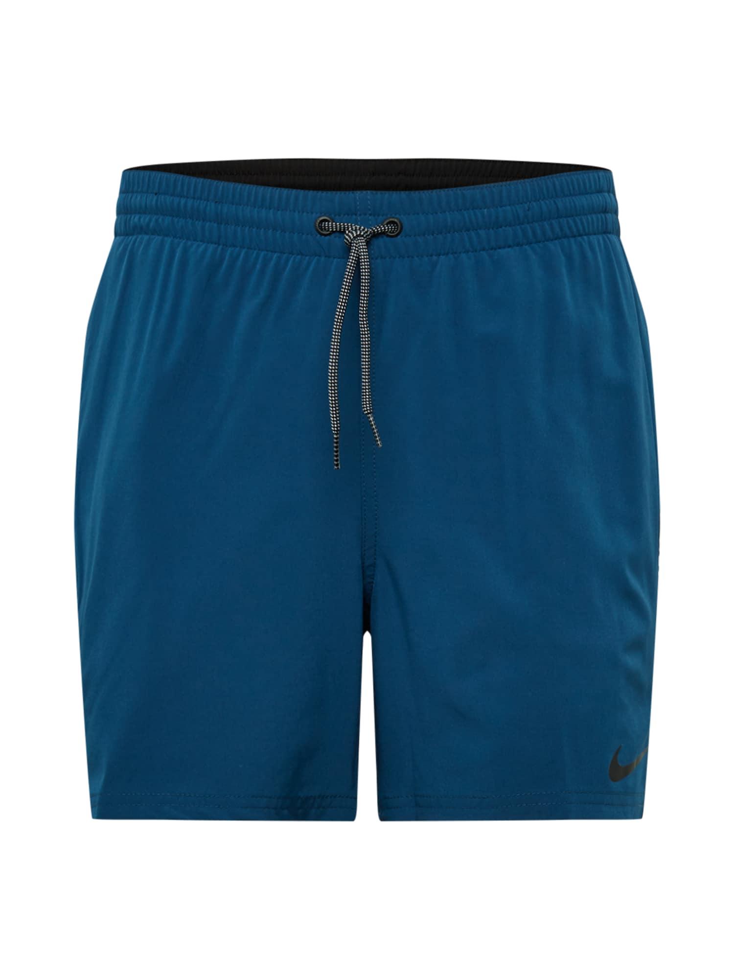 Nike Swim Sportinės glaudės tamsiai mėlyna / juoda