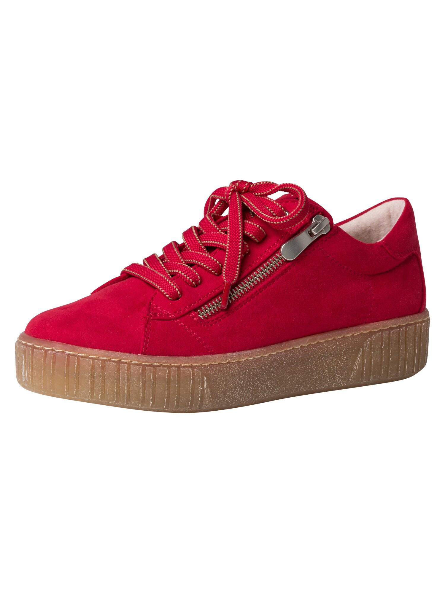 MARCO TOZZI Batai su raišteliais raudona