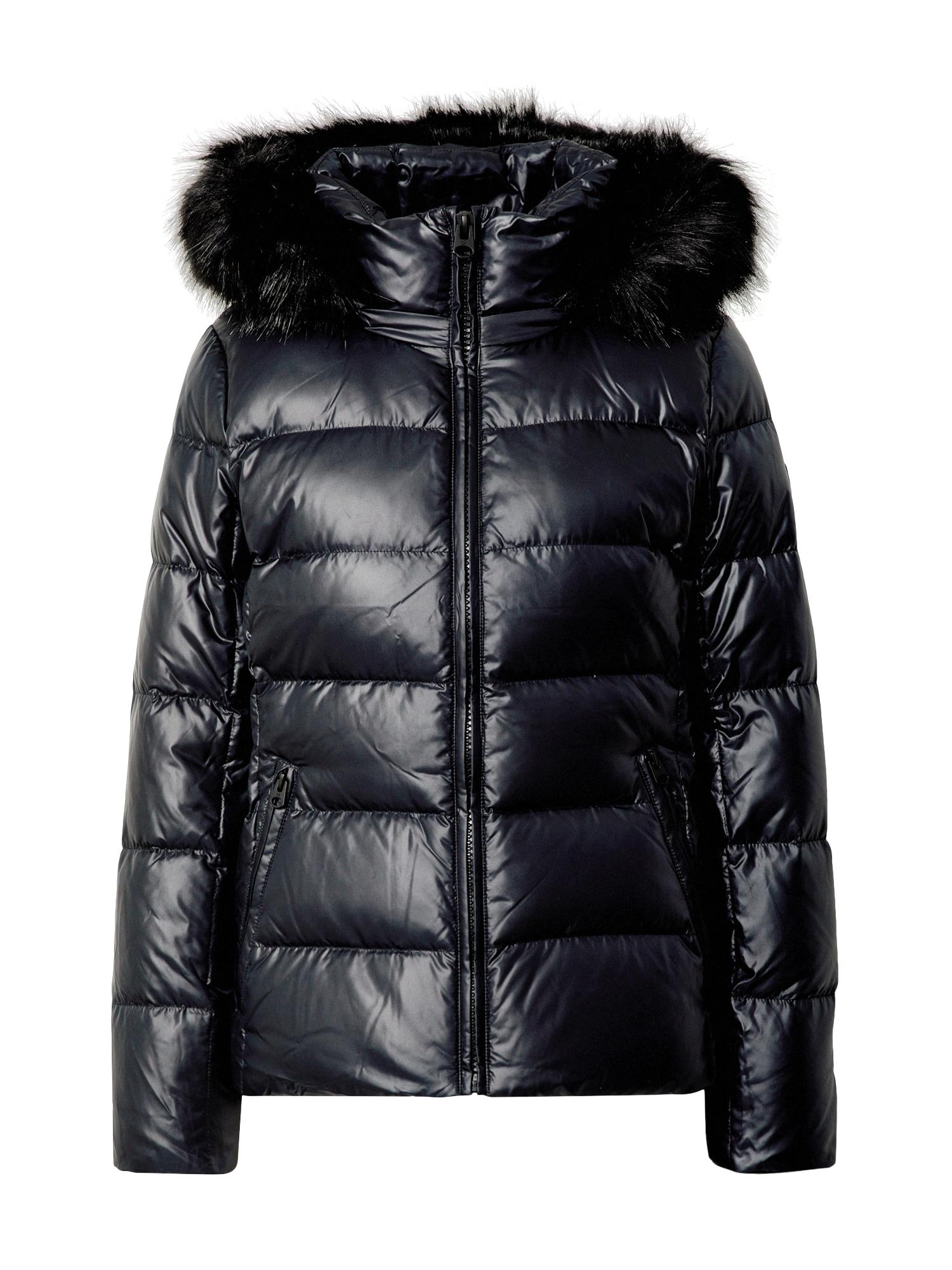 Calvin Klein Zimní bunda  černá