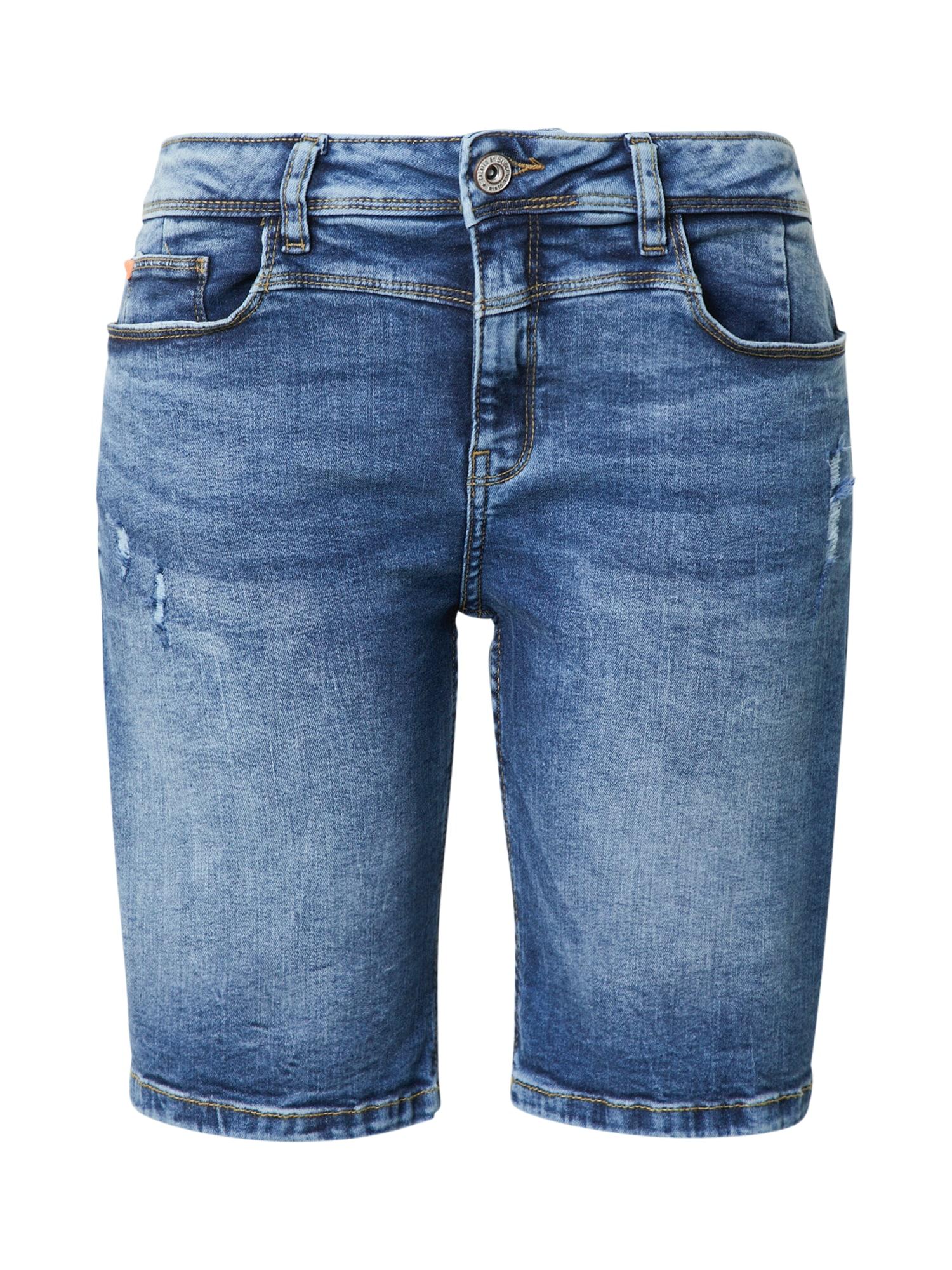Sublevel Džinsai tamsiai (džinso) mėlyna