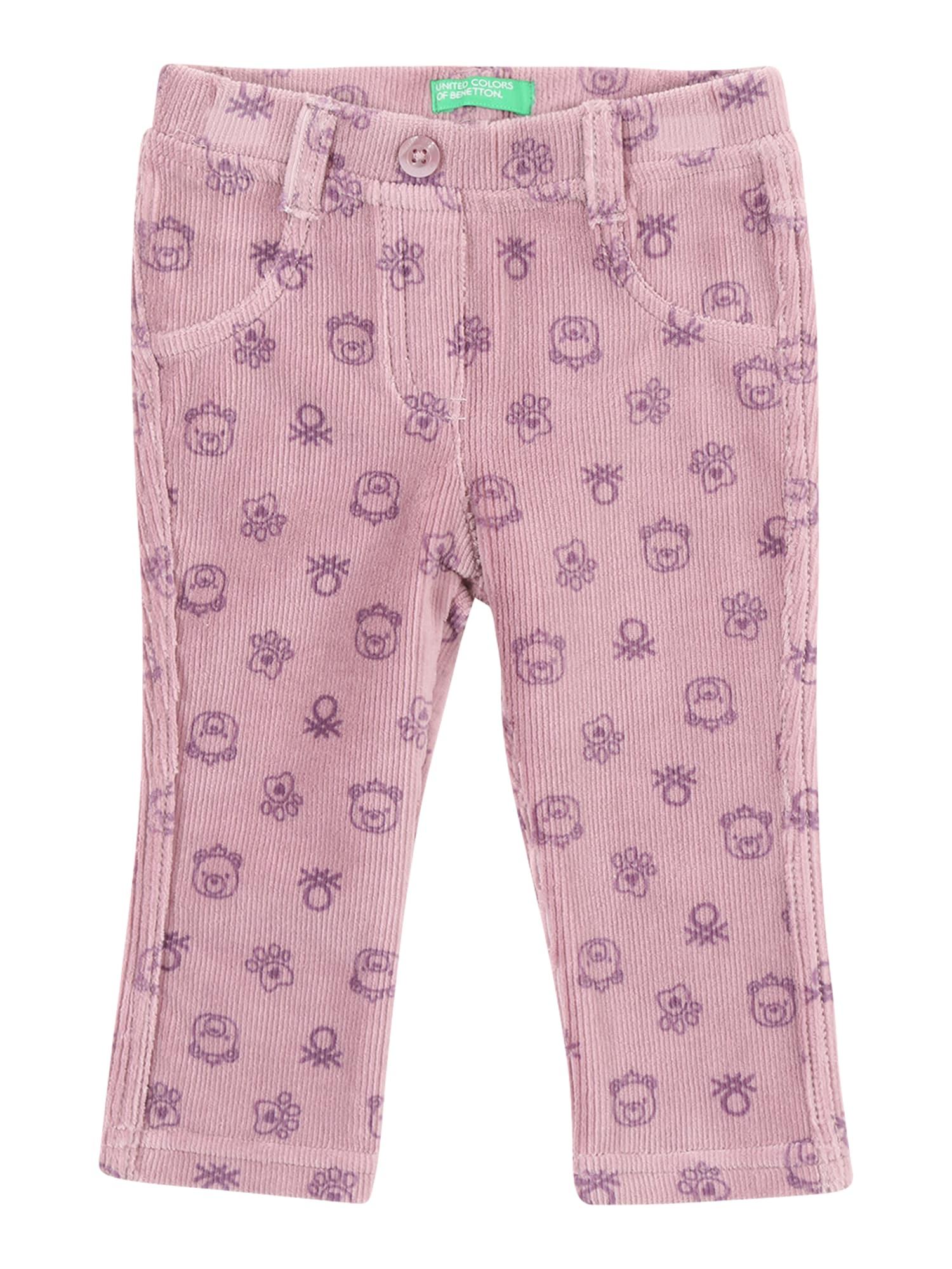 UNITED COLORS OF BENETTON Džinsai pastelinė rožinė / purpurinė