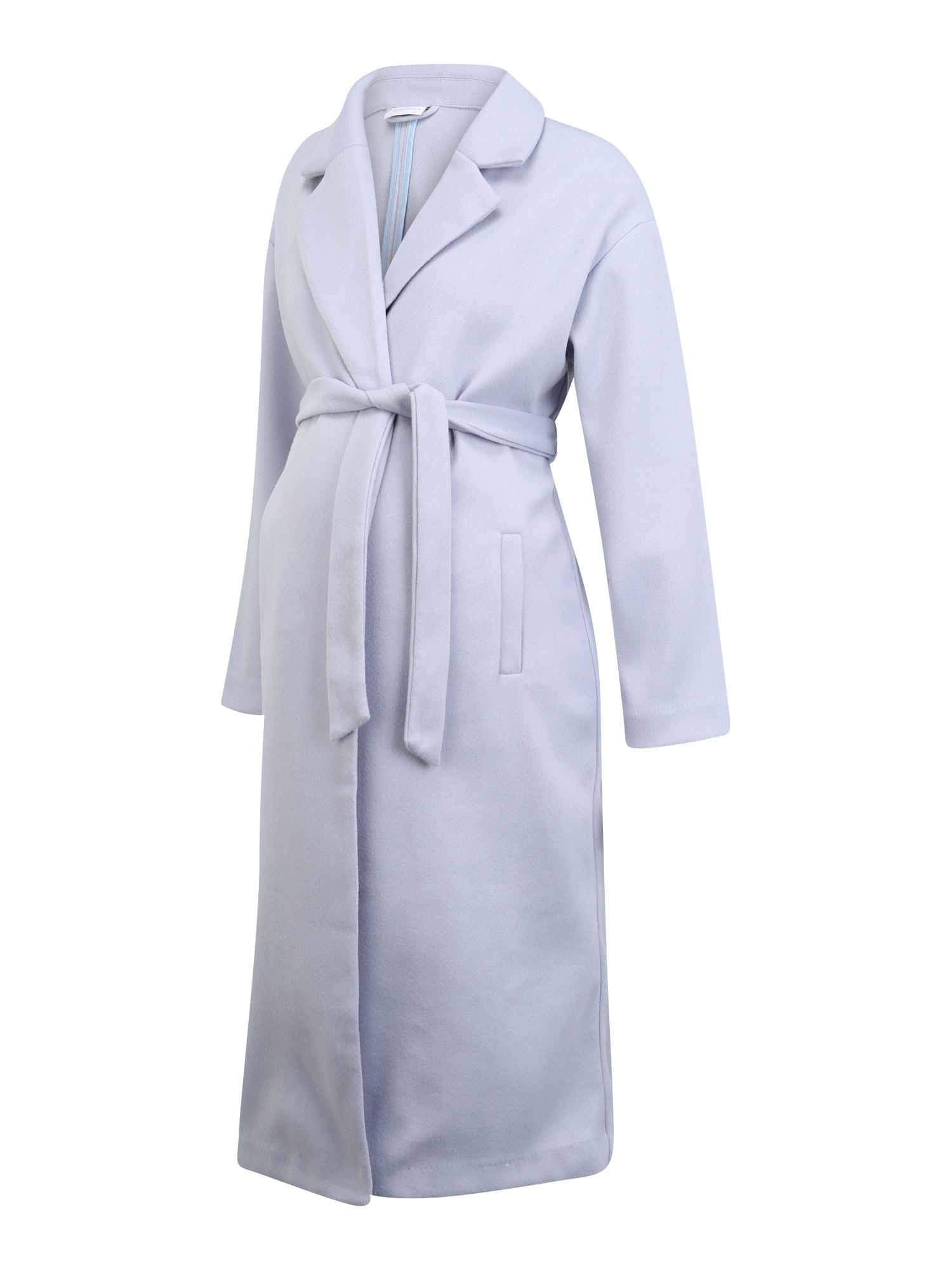 MAMALICIOUS Demisezoninis paltas 'SVEA' šviesiai mėlyna