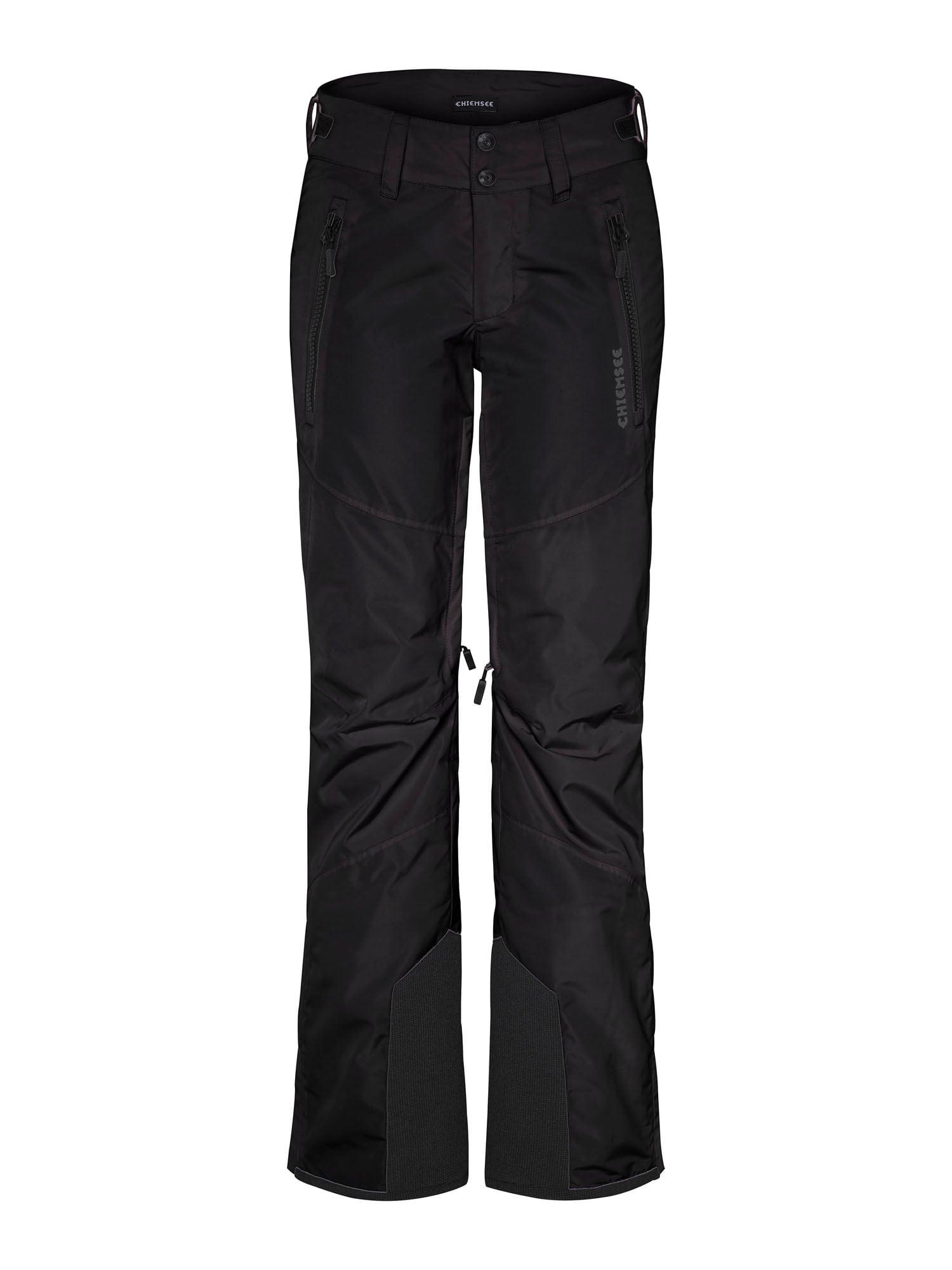 CHIEMSEE Outdoorové kalhoty 'Kizzy'  šedá / černá