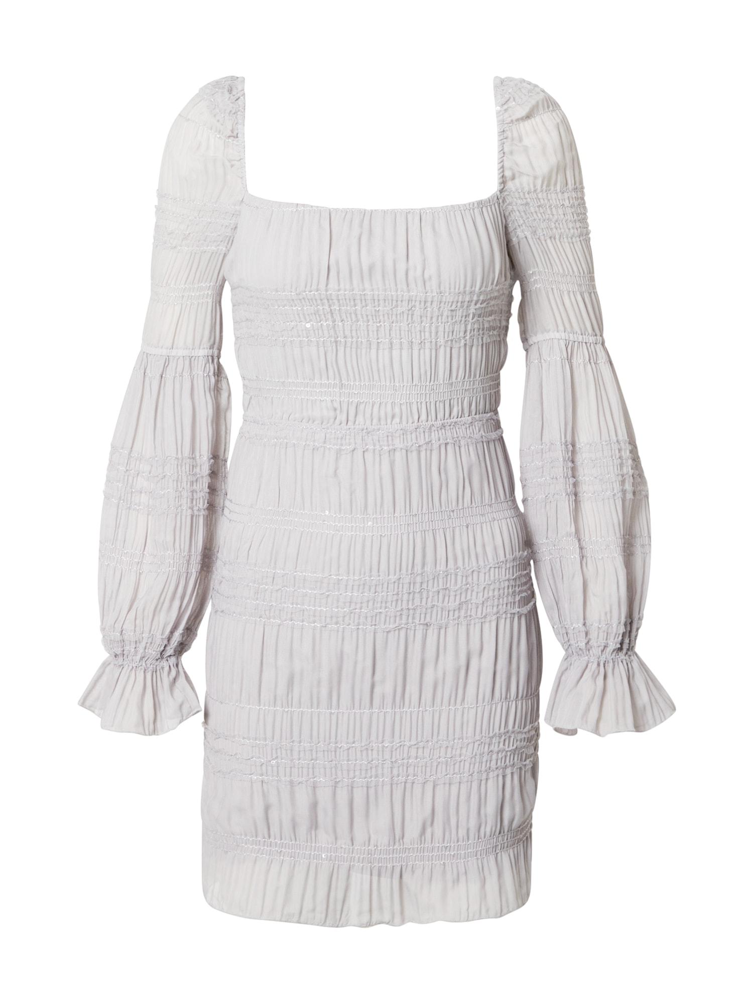 Love Triangle Šaty 'Mercury Rising'  šedá