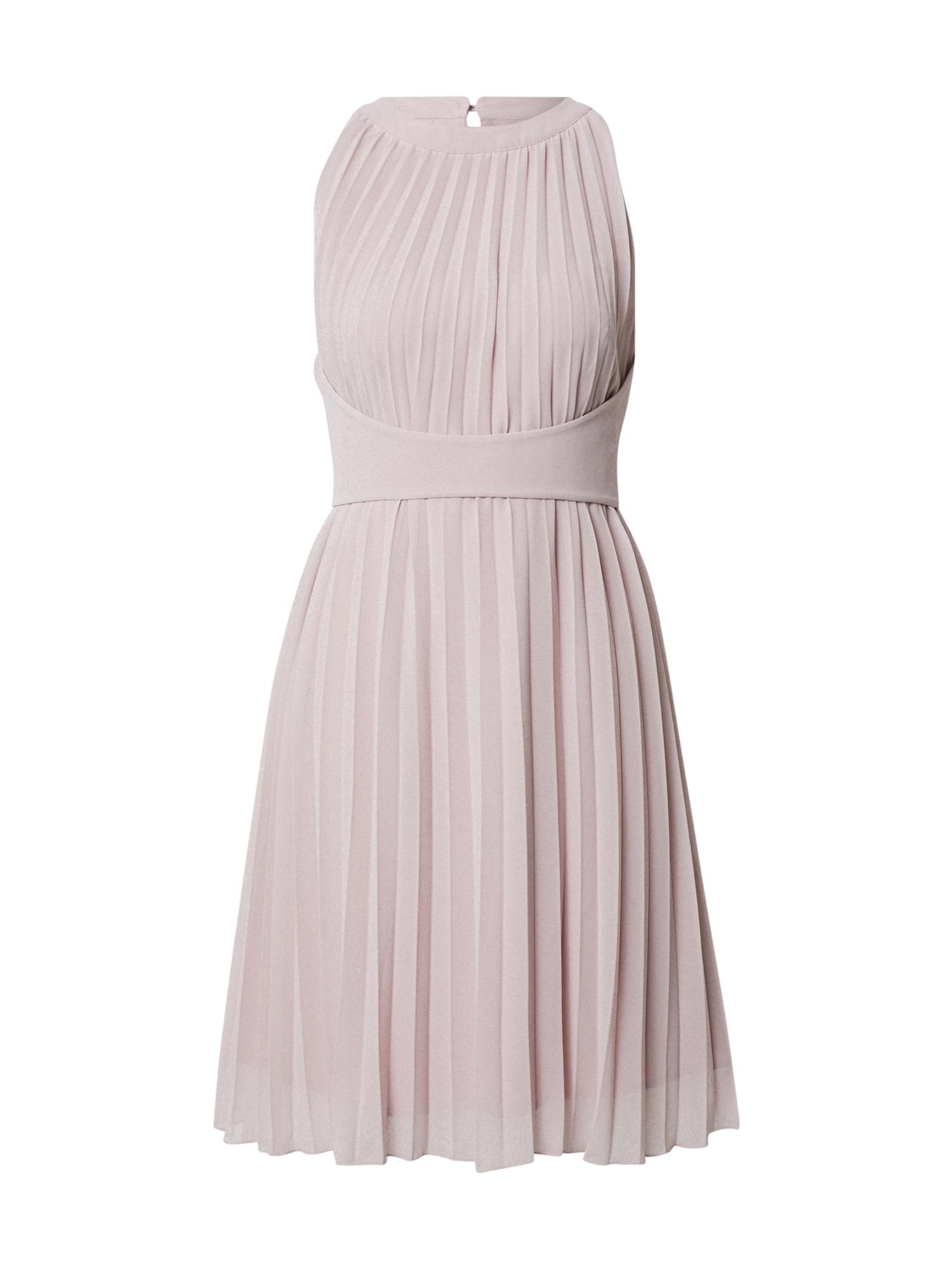 APART Kokteilinė suknelė rausvai violetinė spalva