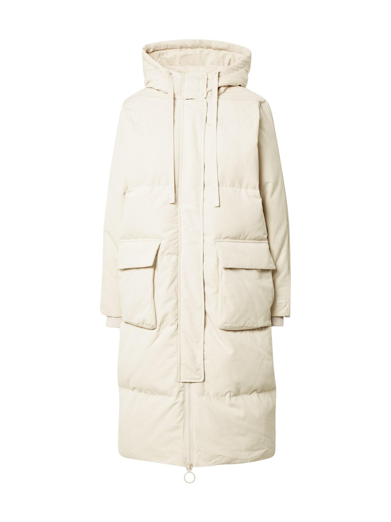 GAP Žieminis paltas kremo