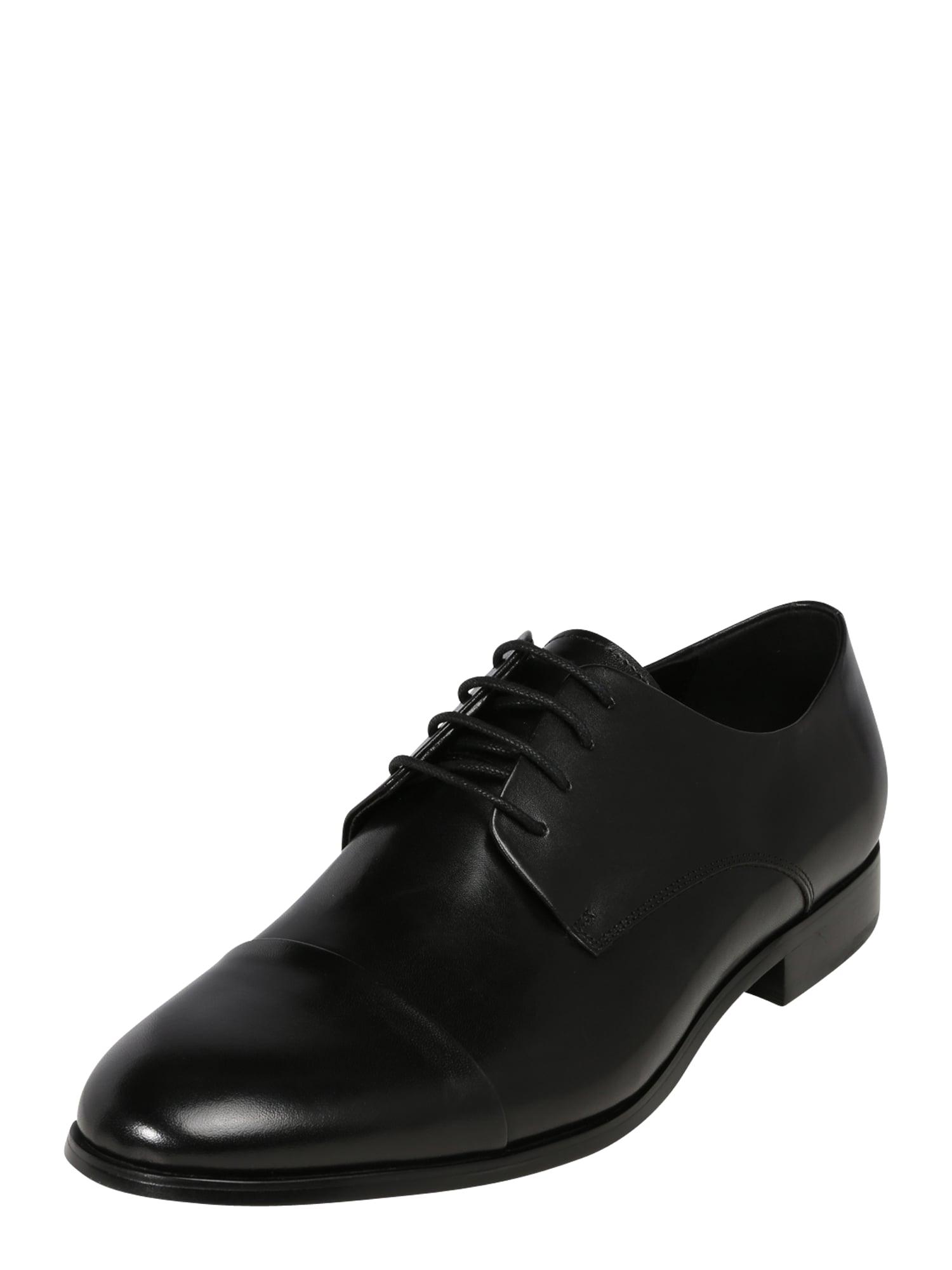 Dune LONDON Šnurovacie topánky 'Shea'  čierna
