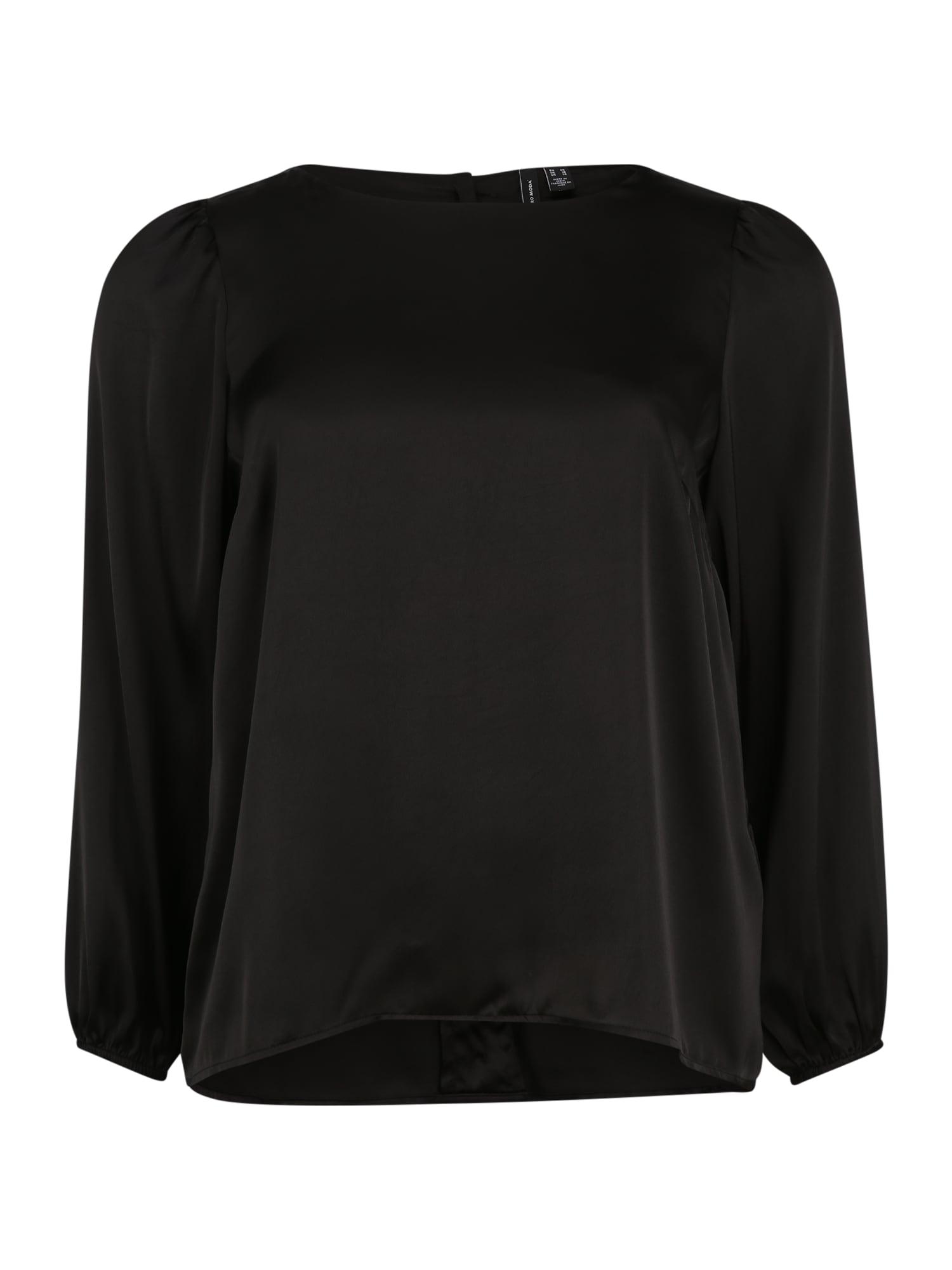 Vero Moda Curve Tričko 'Maddie'  černá