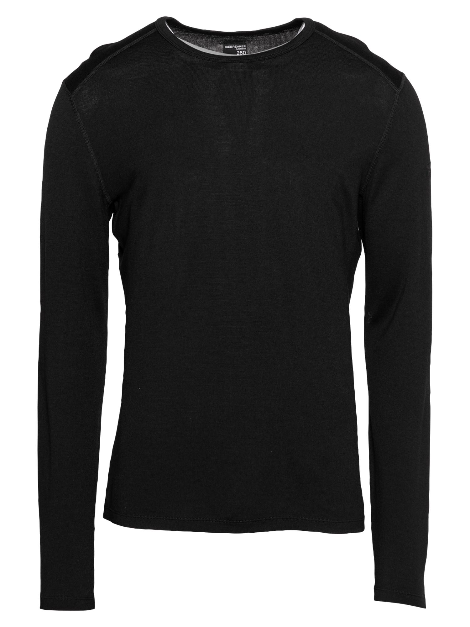 Icebreaker Sportiniai apatiniai marškinėliai juoda