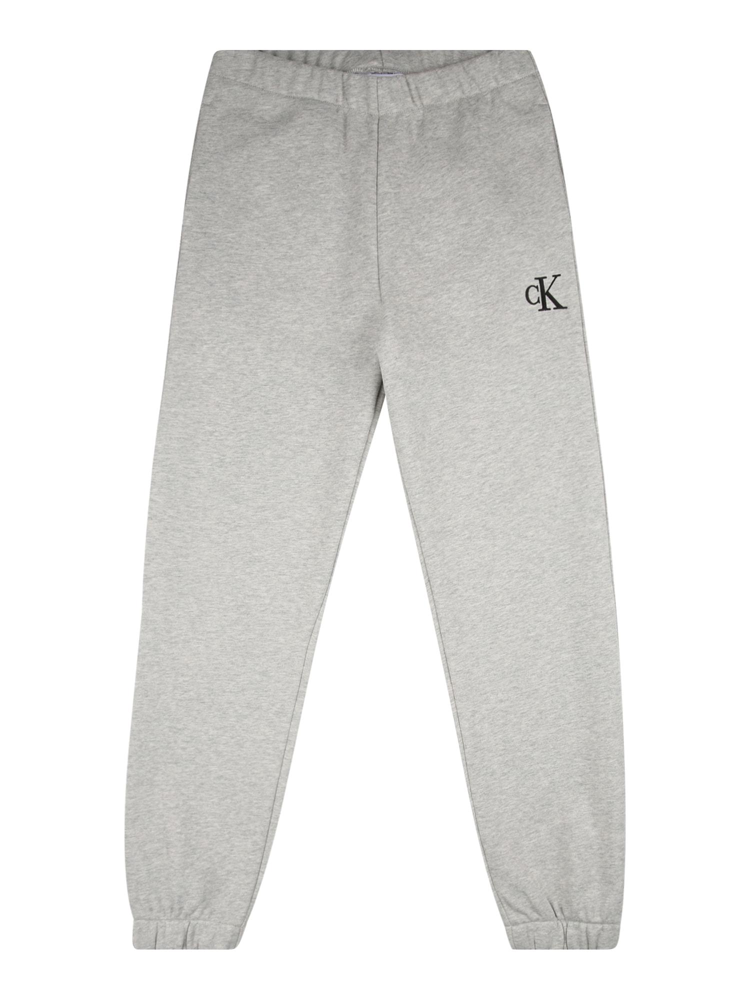 Calvin Klein Jeans Kelnės šviesiai pilka