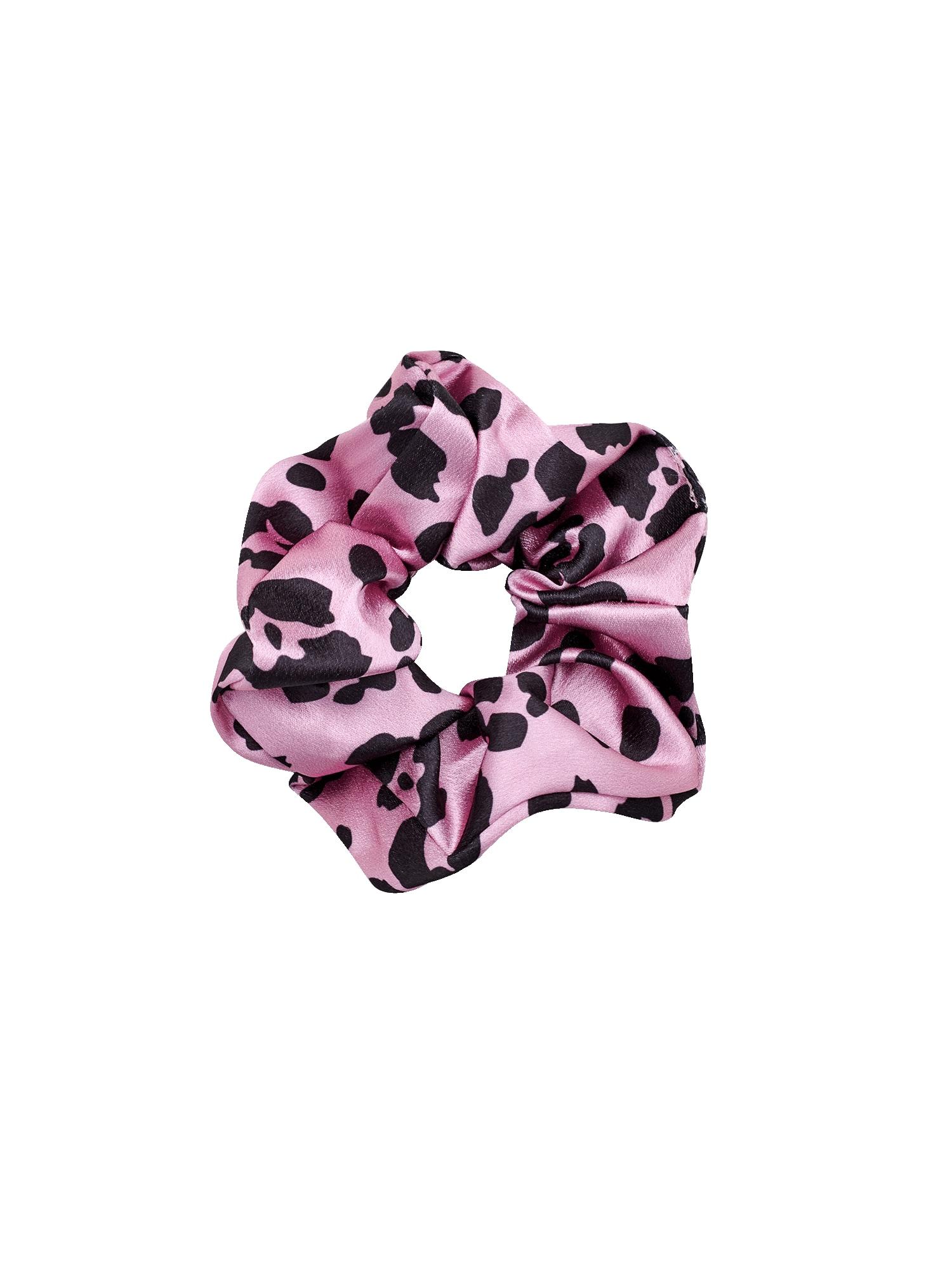 EDITED Plaukų papuošalas 'Elina' tamsiai rožinė / juoda