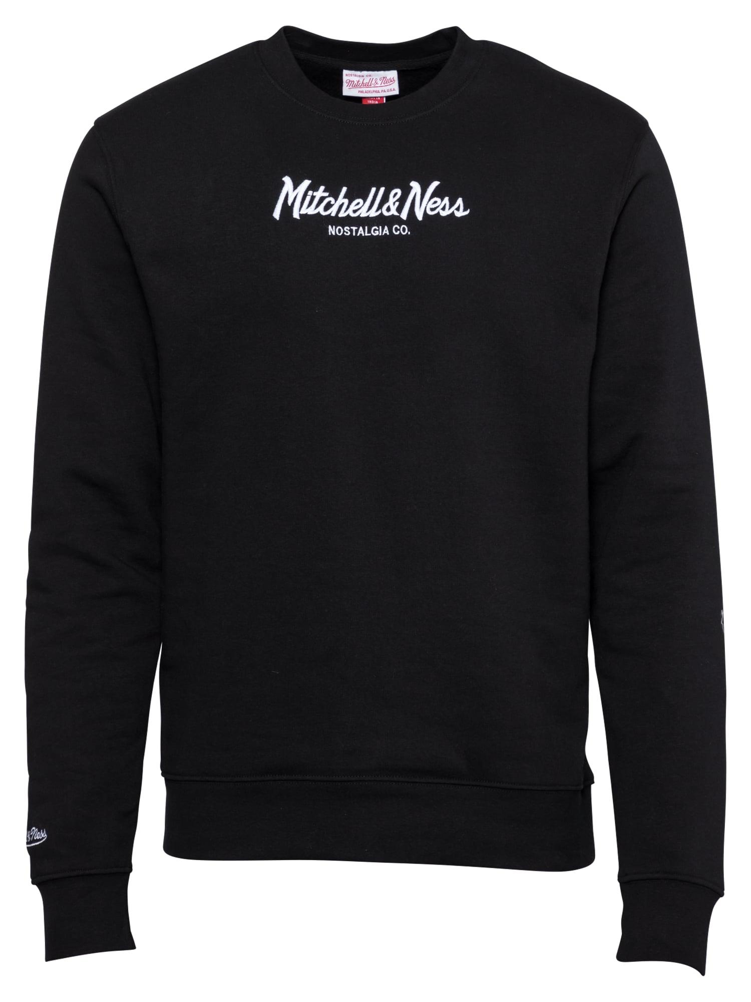 Mitchell & Ness Megztinis be užsegimo juoda / balta
