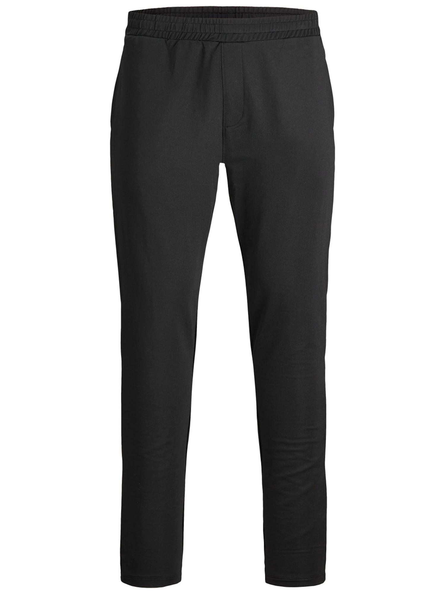 JACK & JONES Sportinės kelnės juoda / balta / raudona