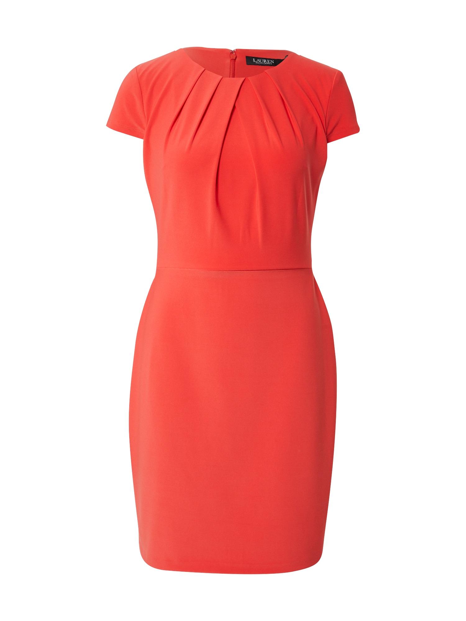 Lauren Ralph Lauren Pouzdrové šaty 'BRENDA'  červená
