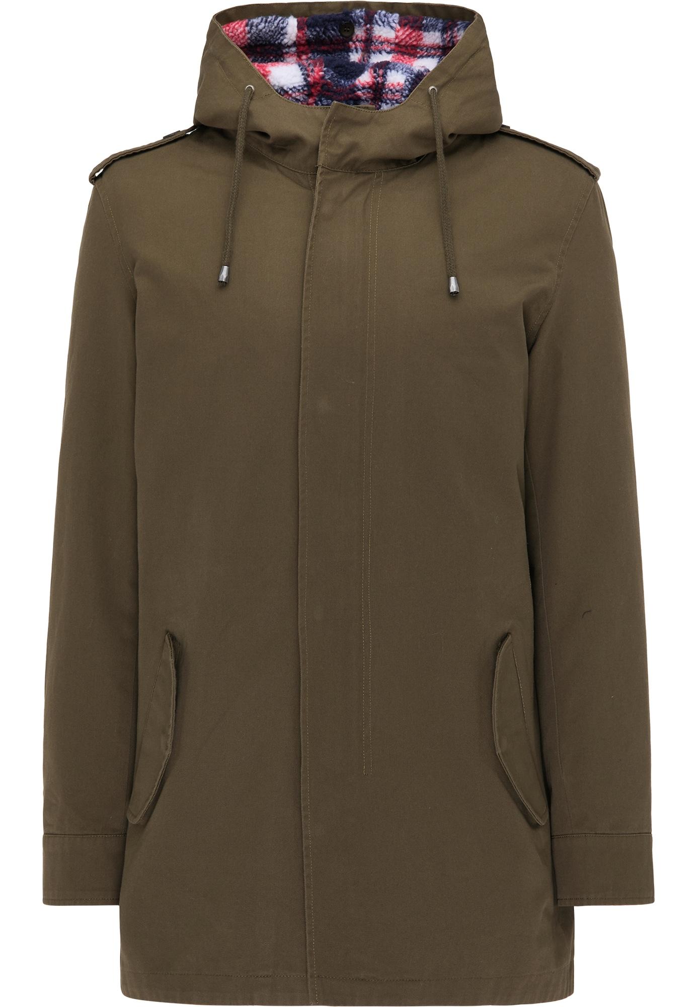 MO Demisezoninis paltas rusvai žalia