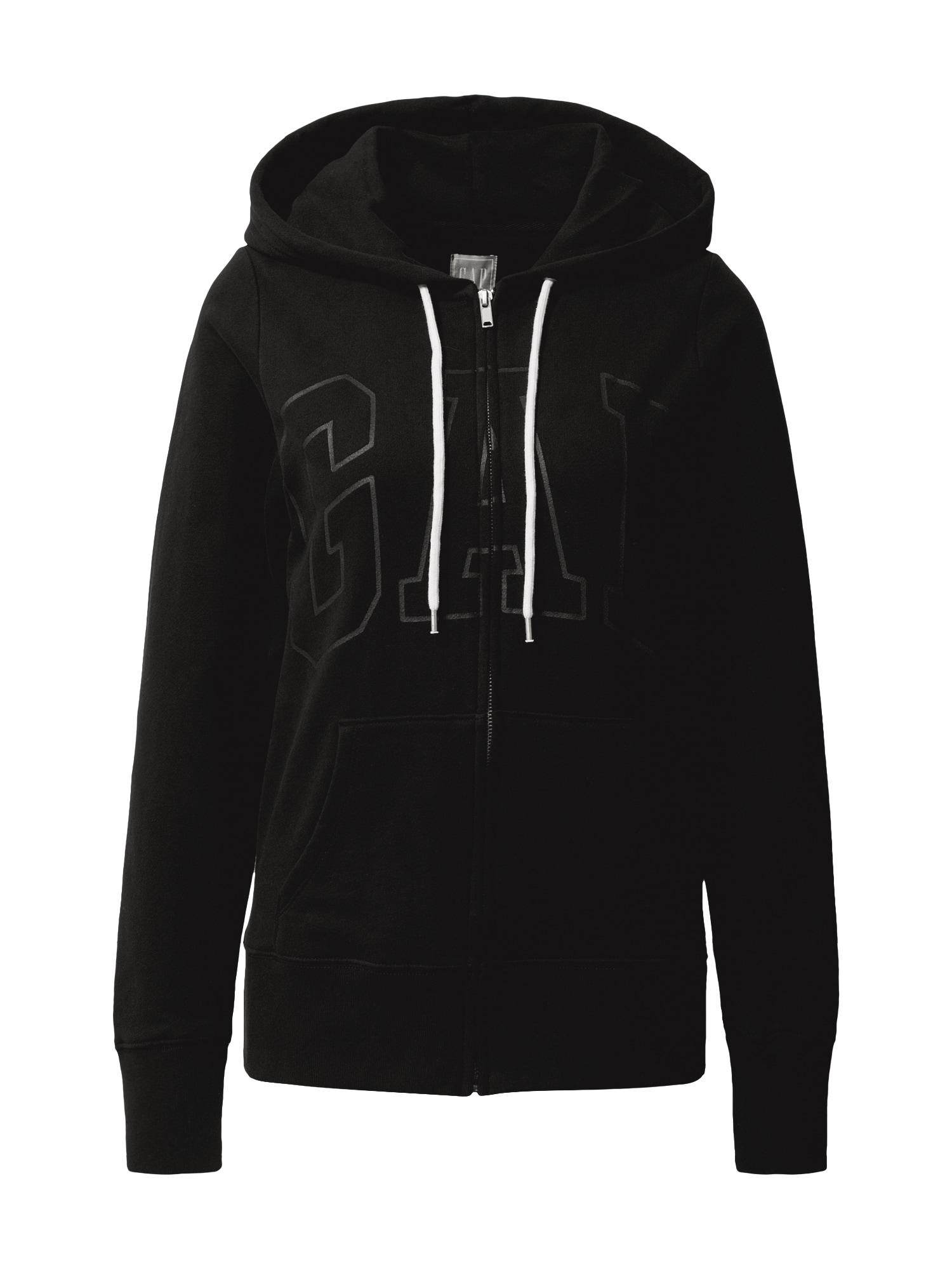 GAP Džemperis juoda / pilka