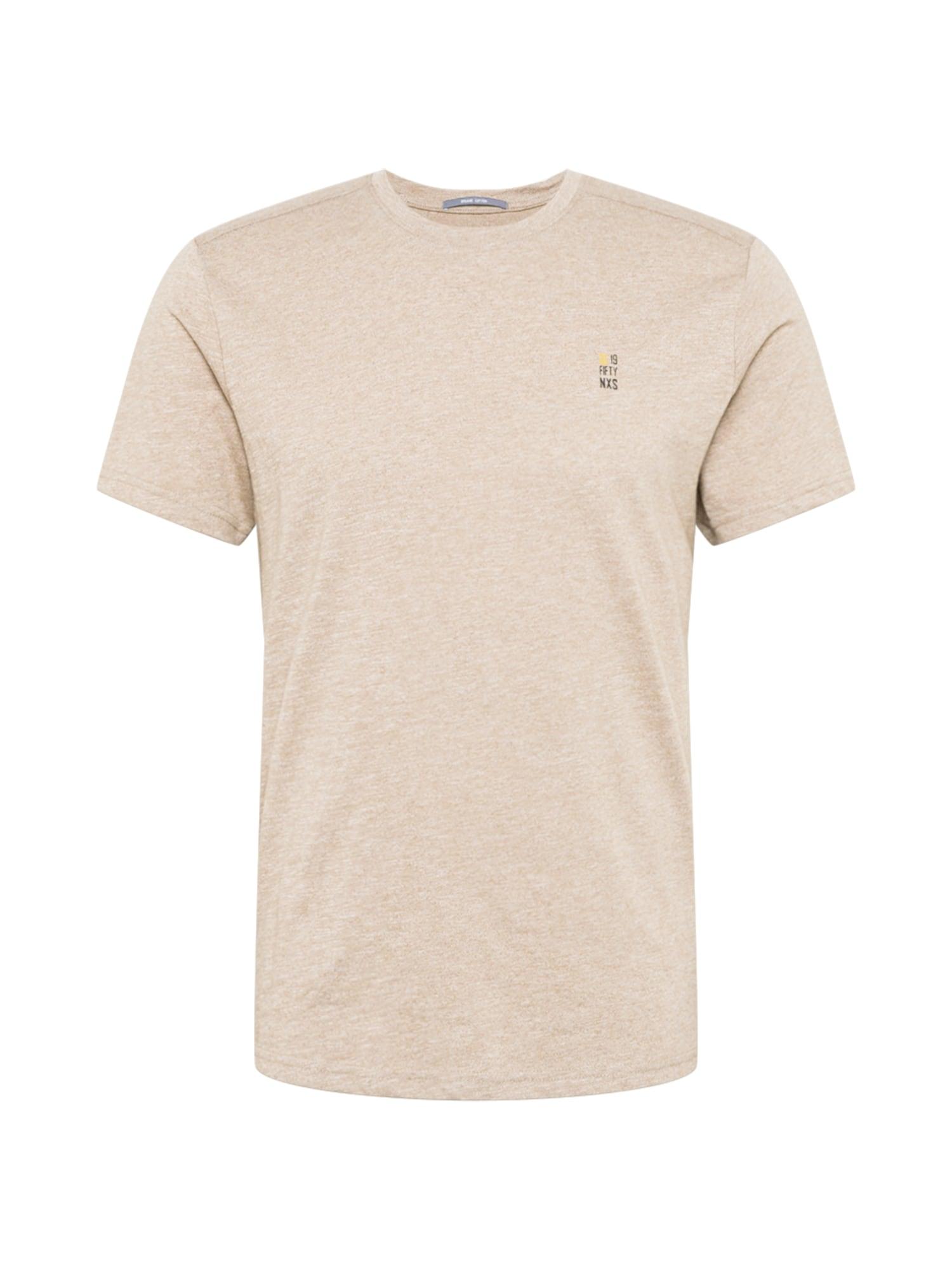 No Excess Marškinėliai smėlio spalva