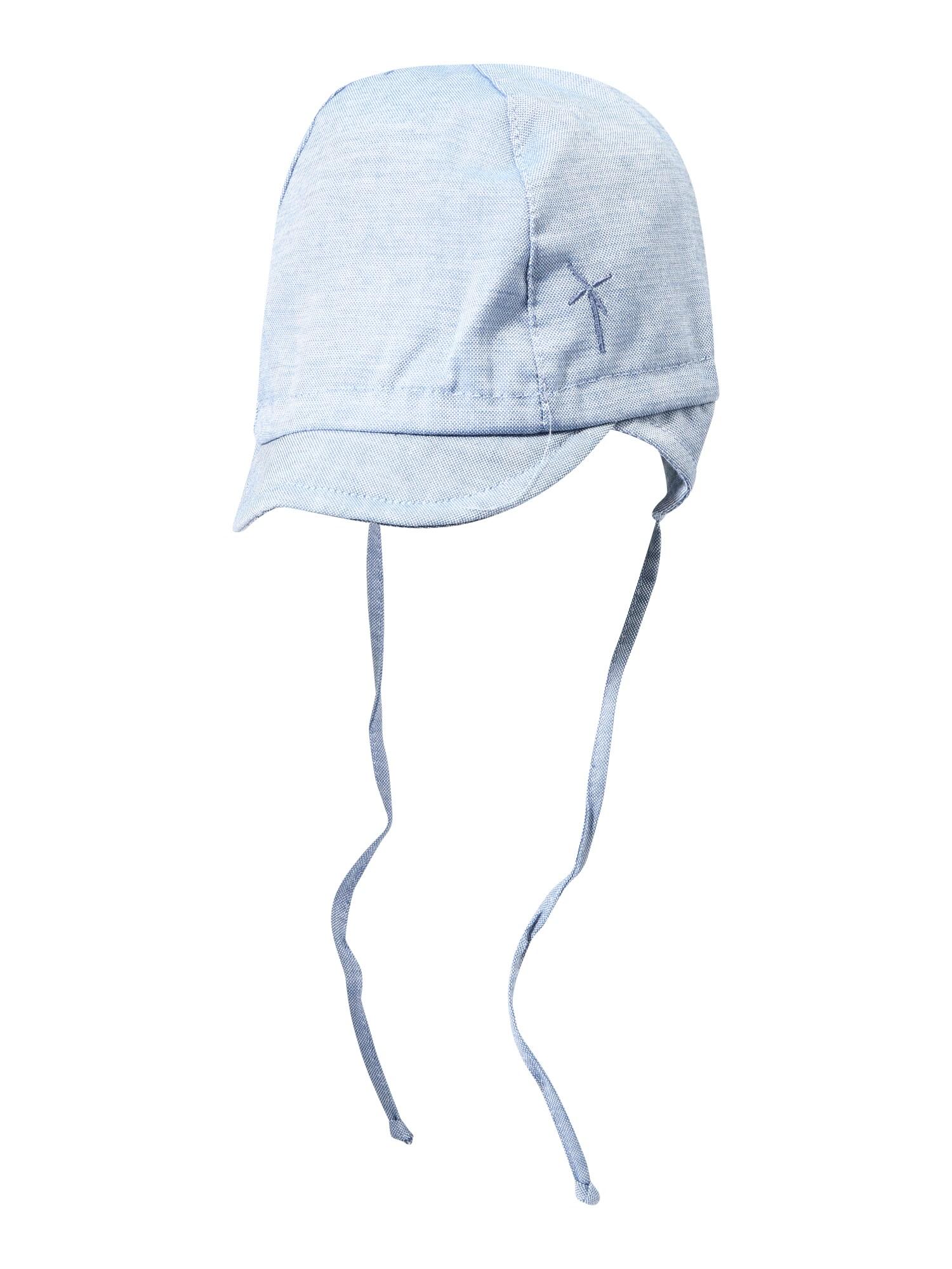 mp Denmark Megzta kepurė tamsiai (džinso) mėlyna
