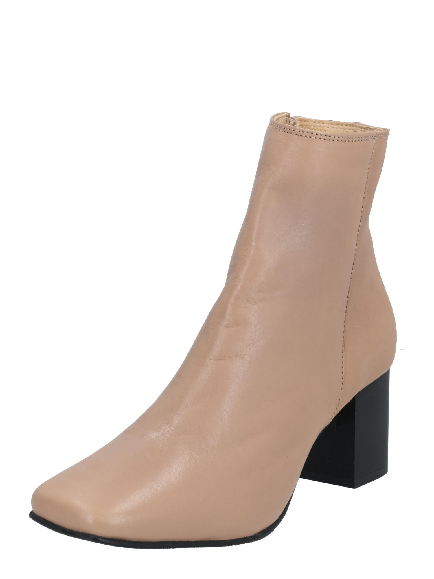SELECTED FEMME Kotníkové boty  béžová