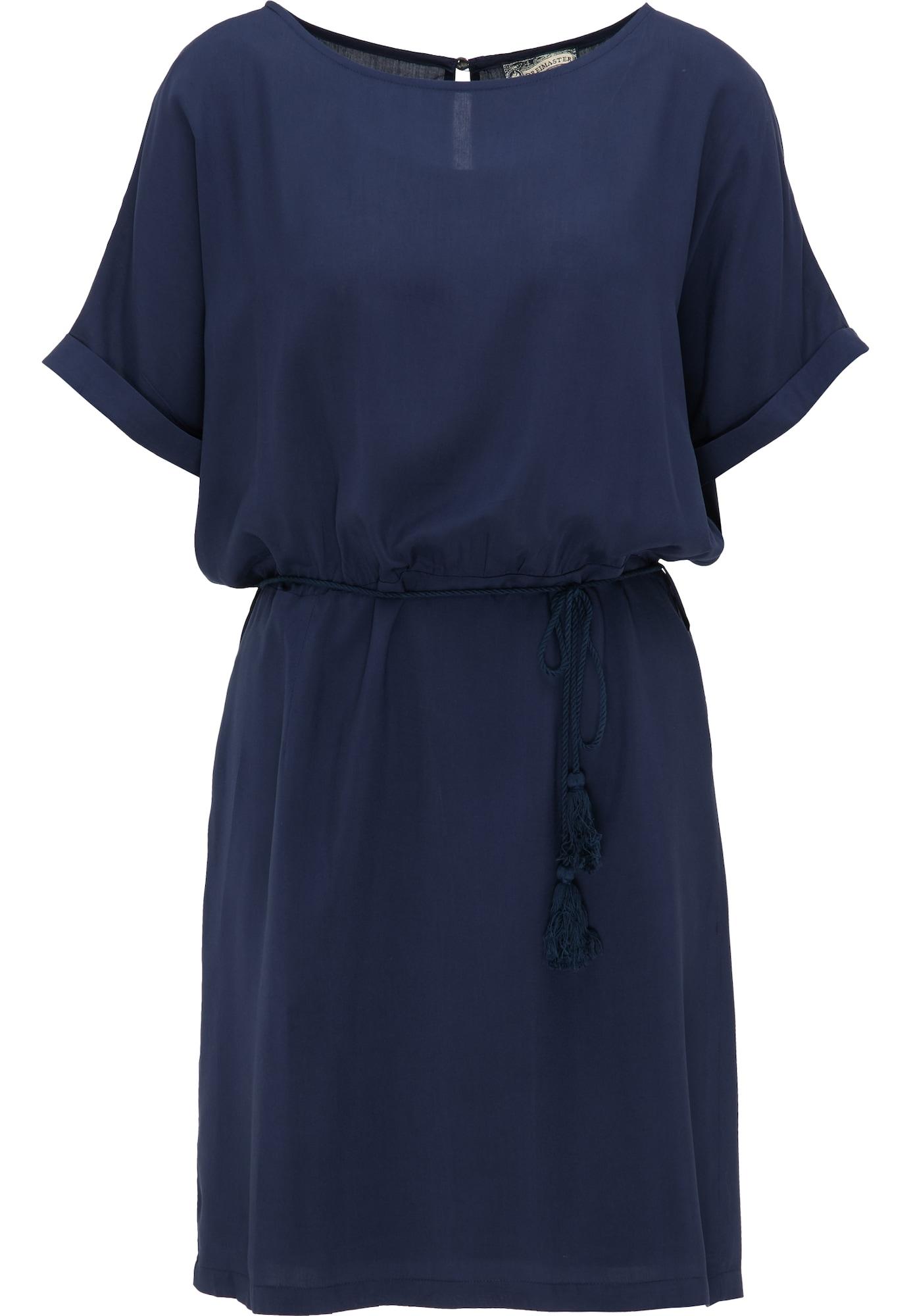 DreiMaster Vintage Vasarinė suknelė tamsiai mėlyna