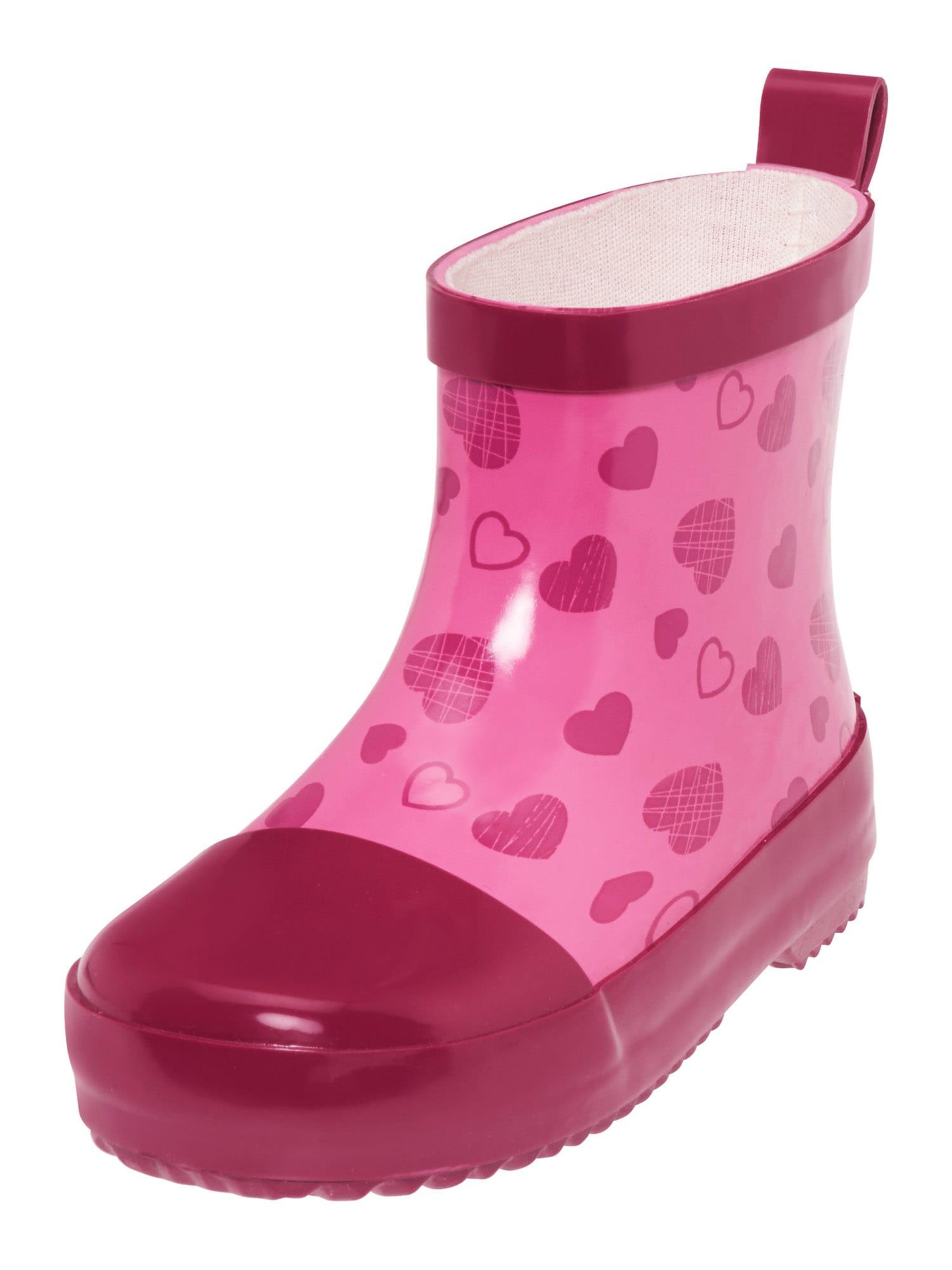 PLAYSHOES Guminiai batai eozino spalva / šviesiai rožinė