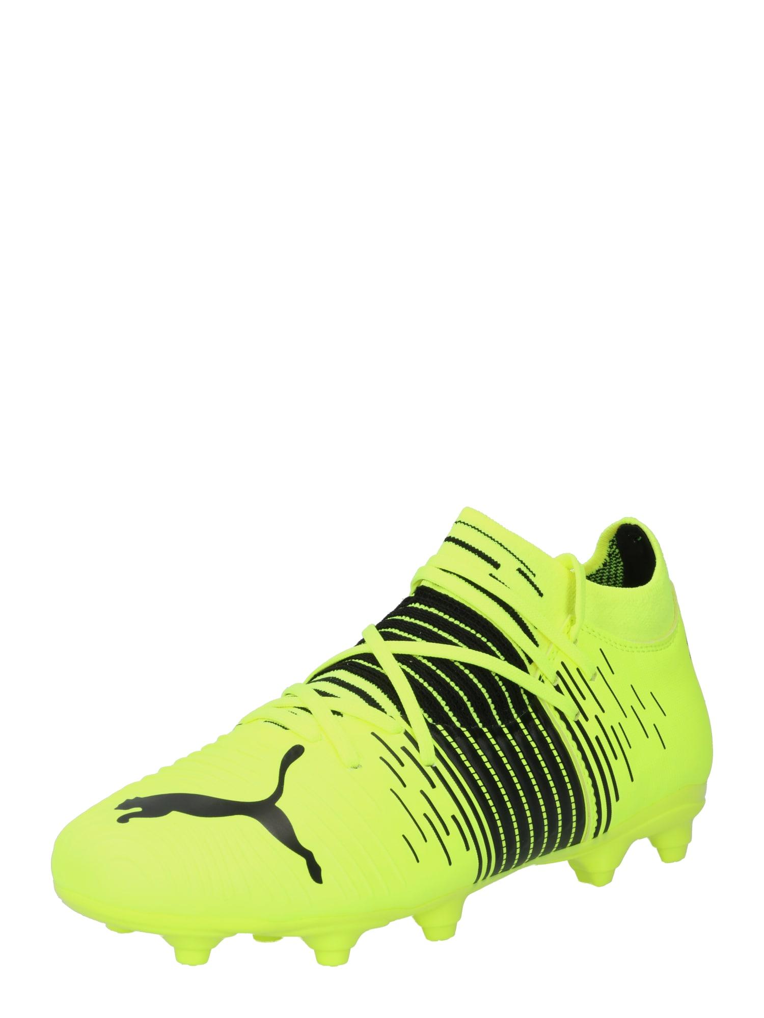 PUMA Sportiniai batai 'Future Z 3.1' juoda / neoninė geltona