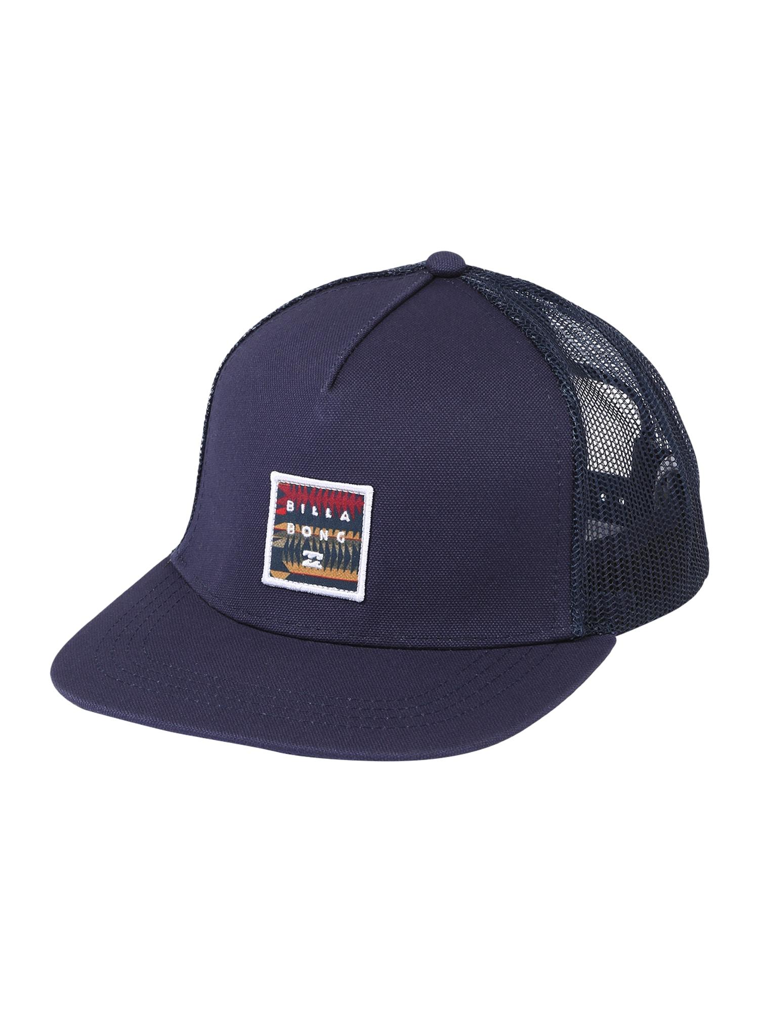 BILLABONG Kepurė tamsiai mėlyna / balta / raudona / aukso geltonumo spalva