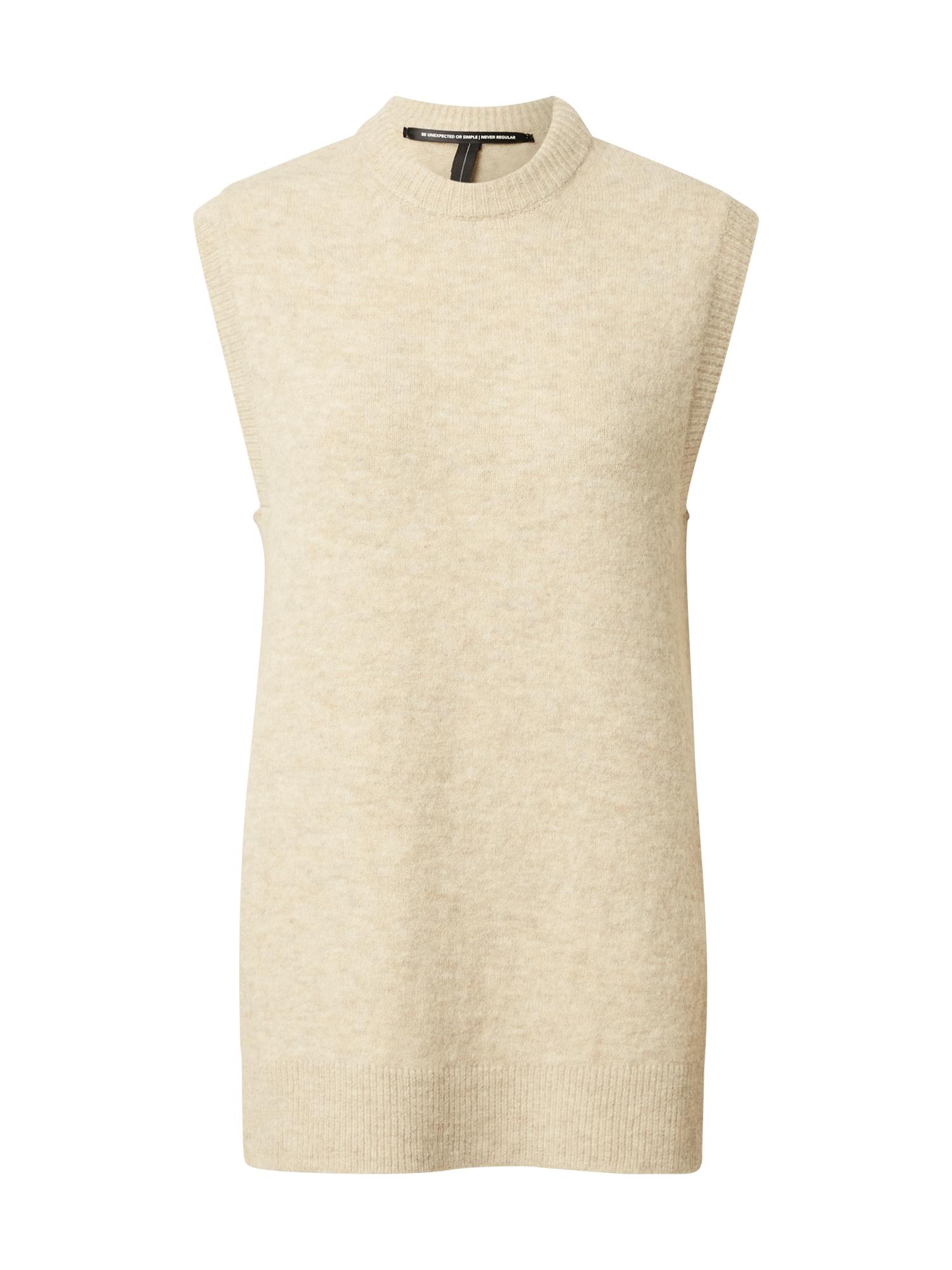 10Days Megztinis 'Spencer' marga smėlio spalva