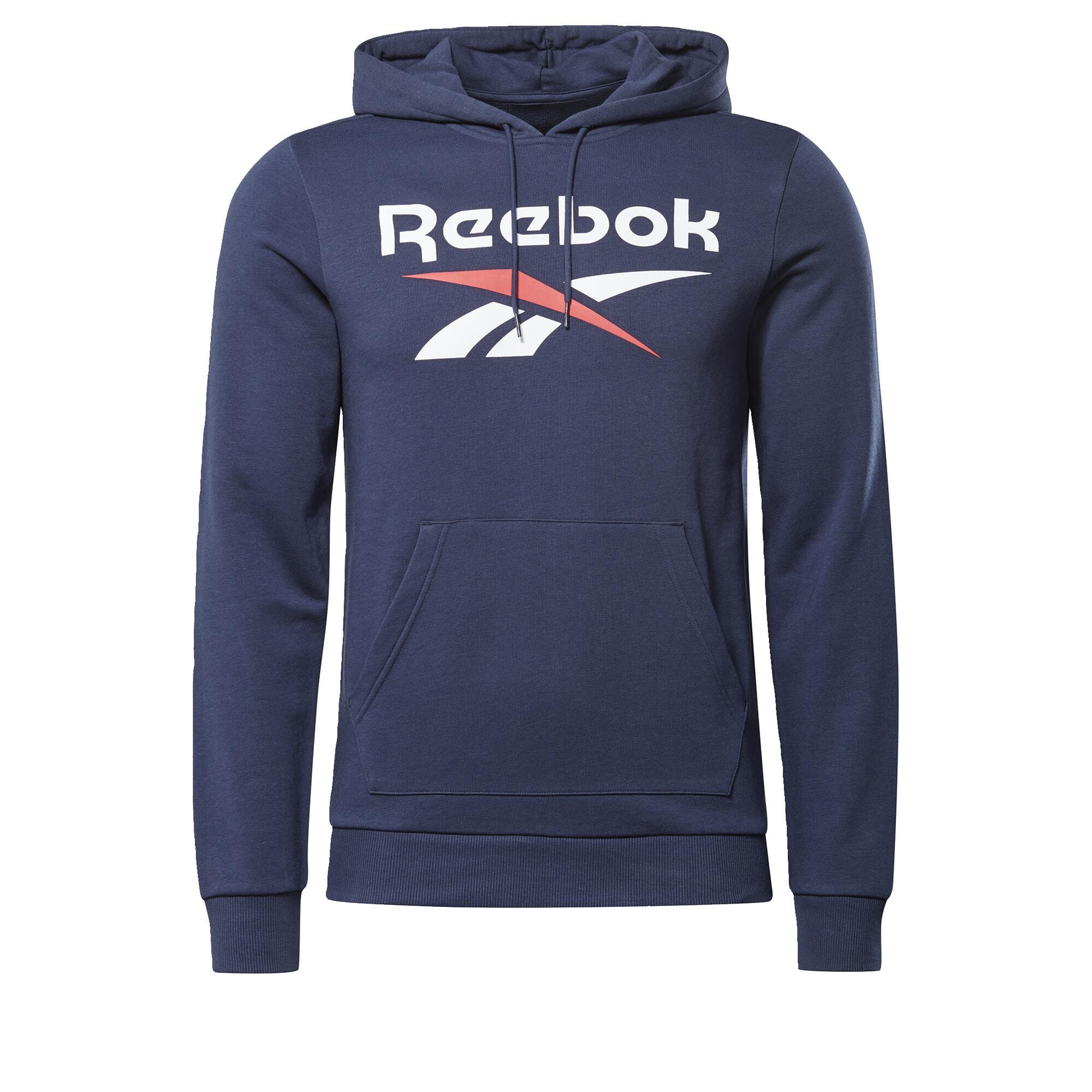 Reebok Classic Sportinio tipo megztinis tamsiai mėlyna / balta / raudona