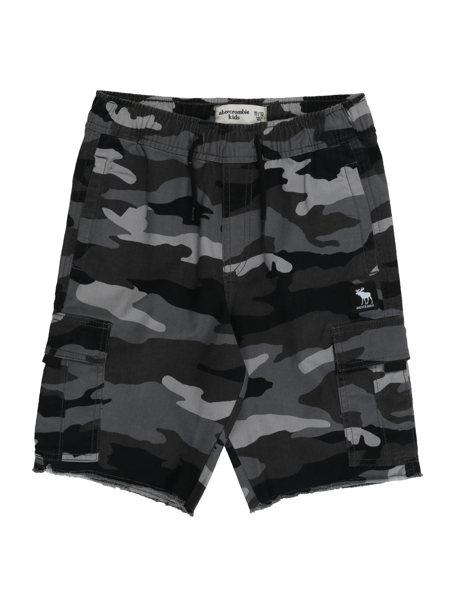 Abercrombie & Fitch Kelnės pilka / tamsiai pilka / antracito / bazalto pilka