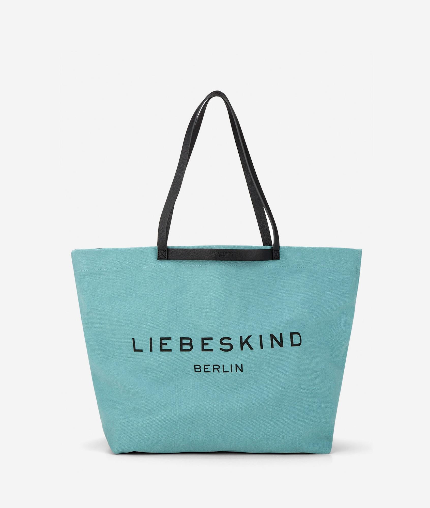 Liebeskind Berlin Pirkinių krepšys šviesiai mėlyna