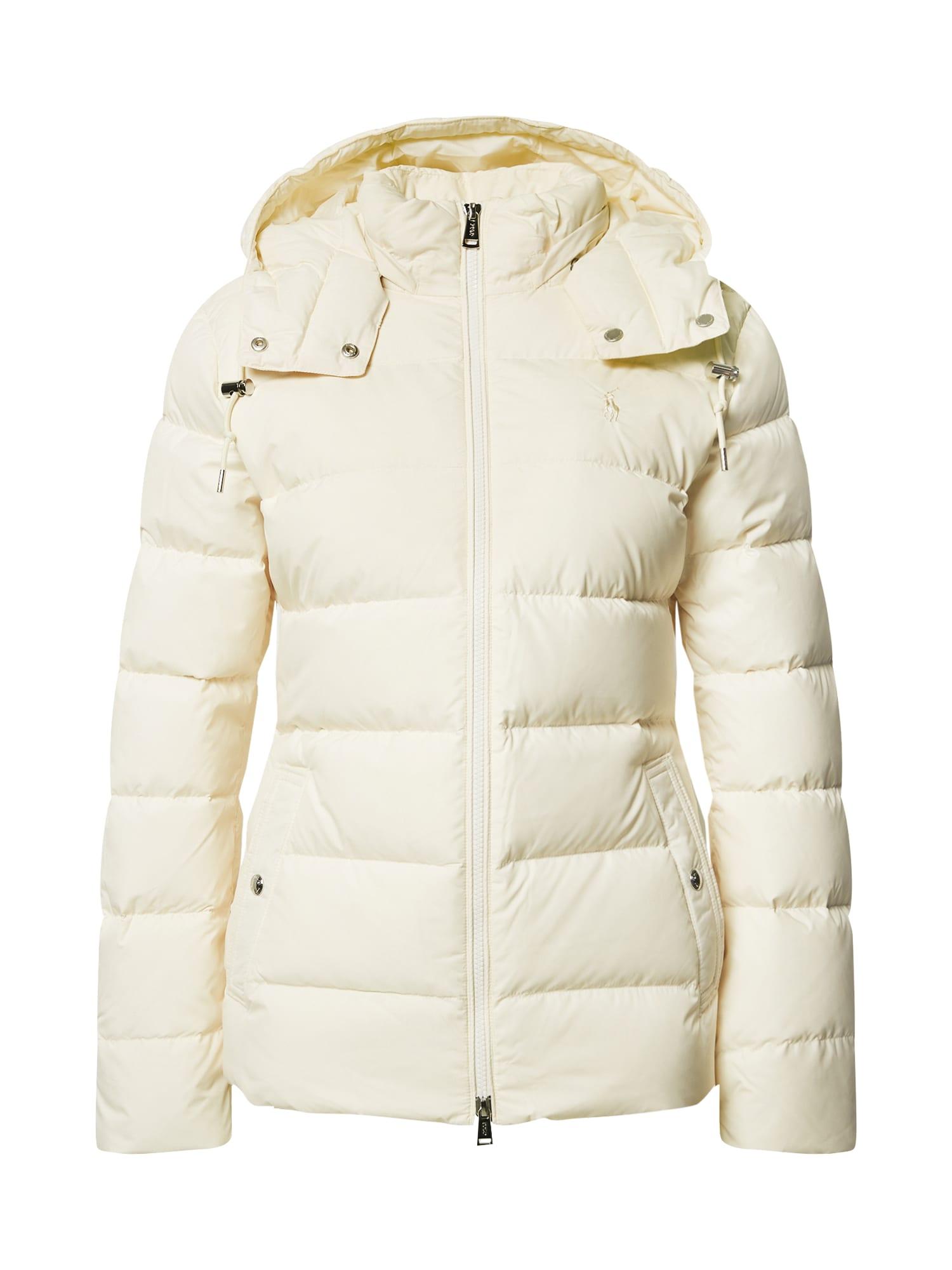 POLO RALPH LAUREN Zimní bunda  krémová
