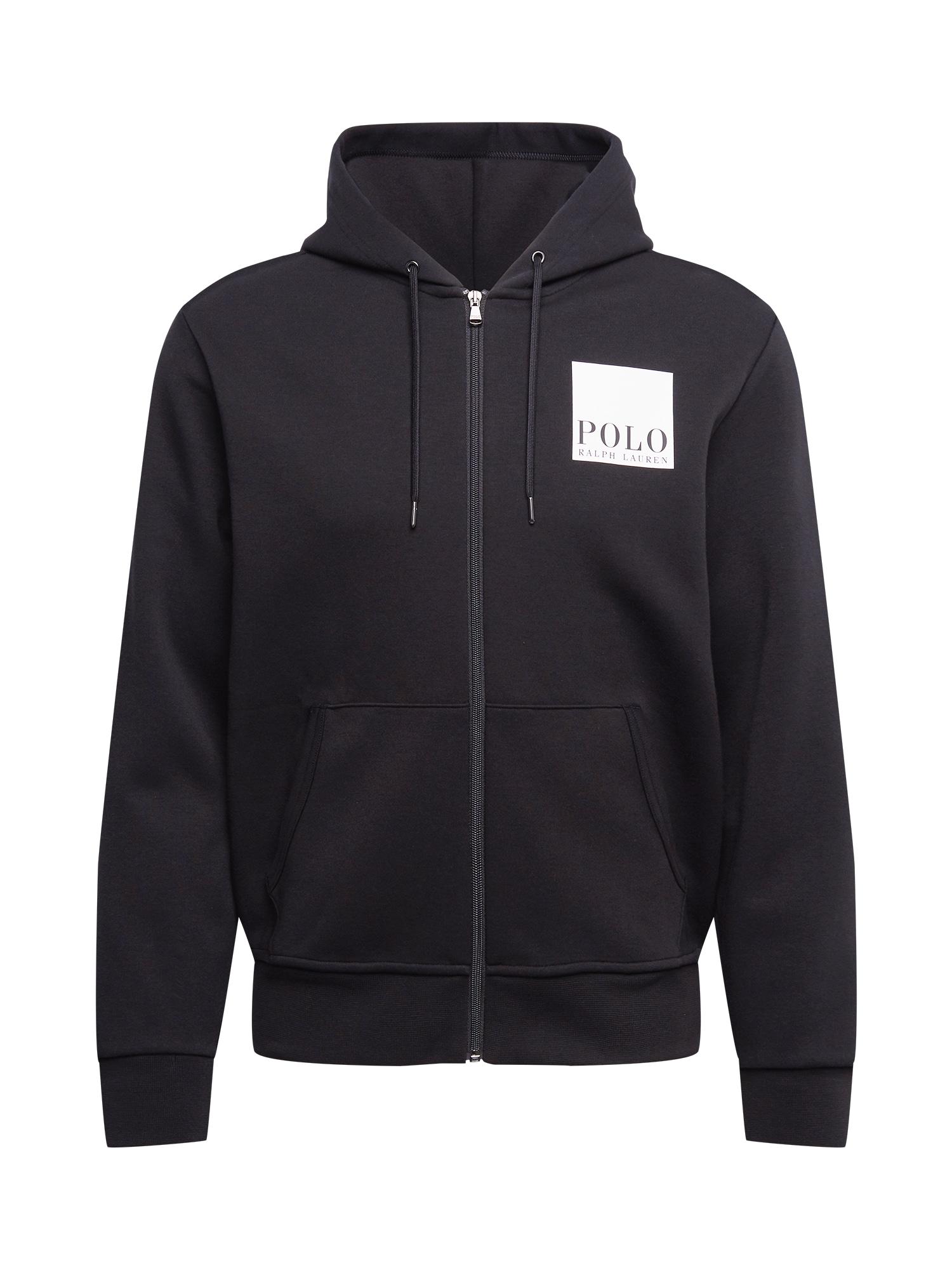 POLO RALPH LAUREN Džemperis juoda / balta
