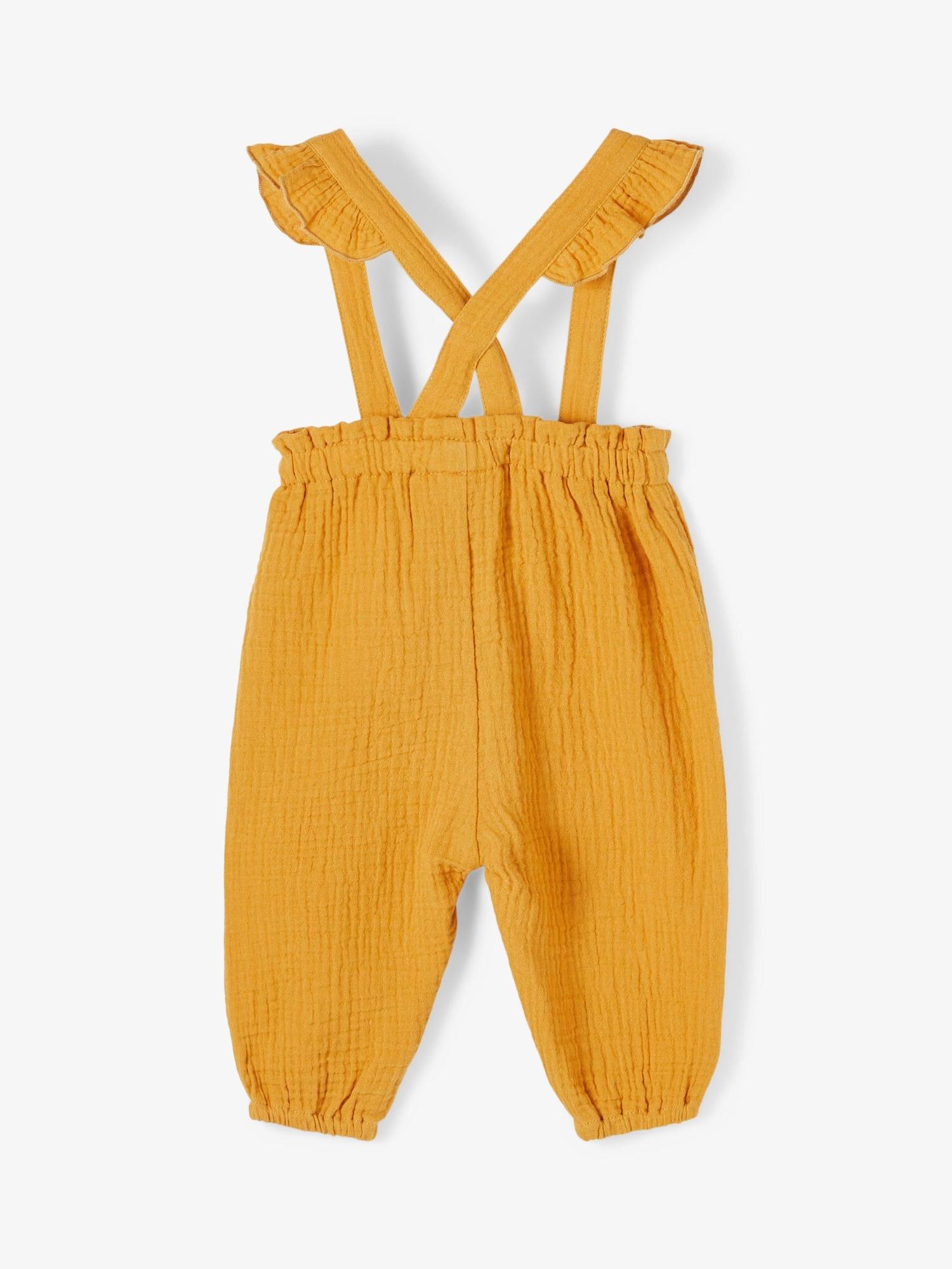 NAME IT Kelnės geltona