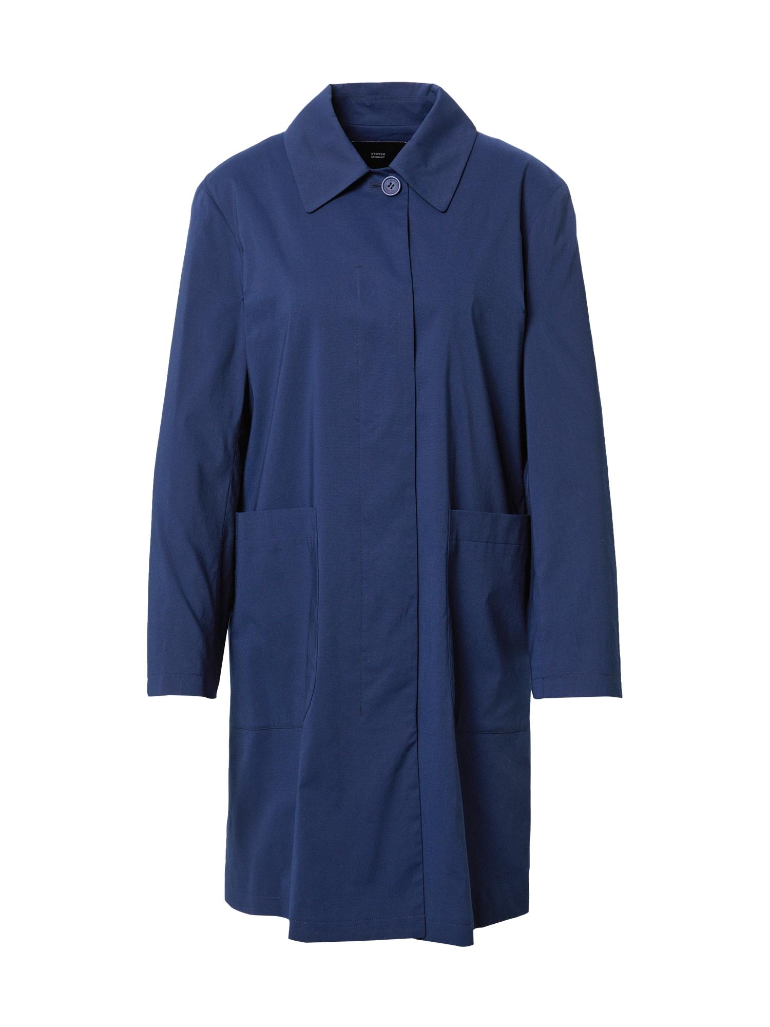 STEFFEN SCHRAUT Demisezoninis paltas tamsiai mėlyna