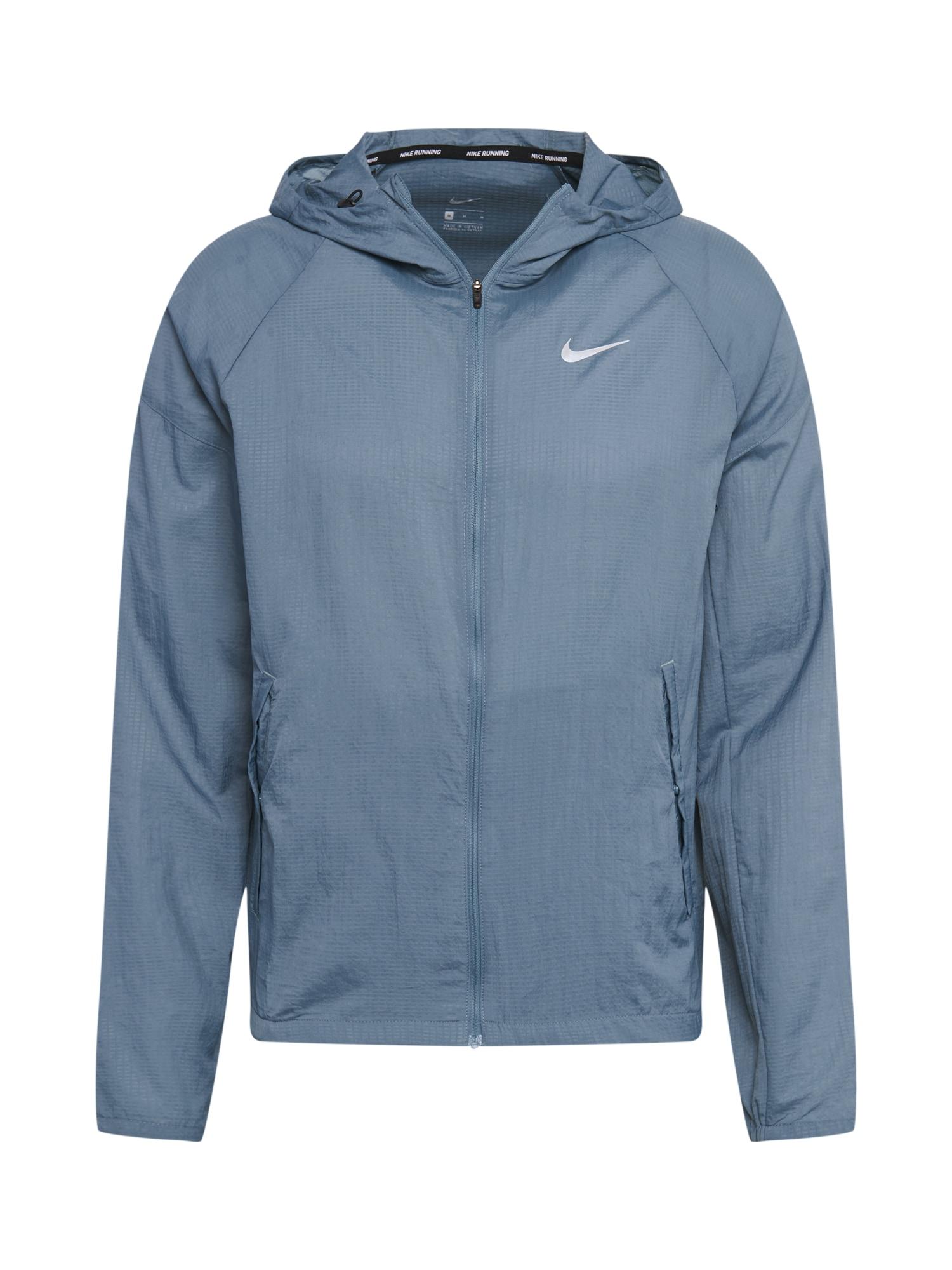NIKE Sportovní bunda 'Essential'  modrá