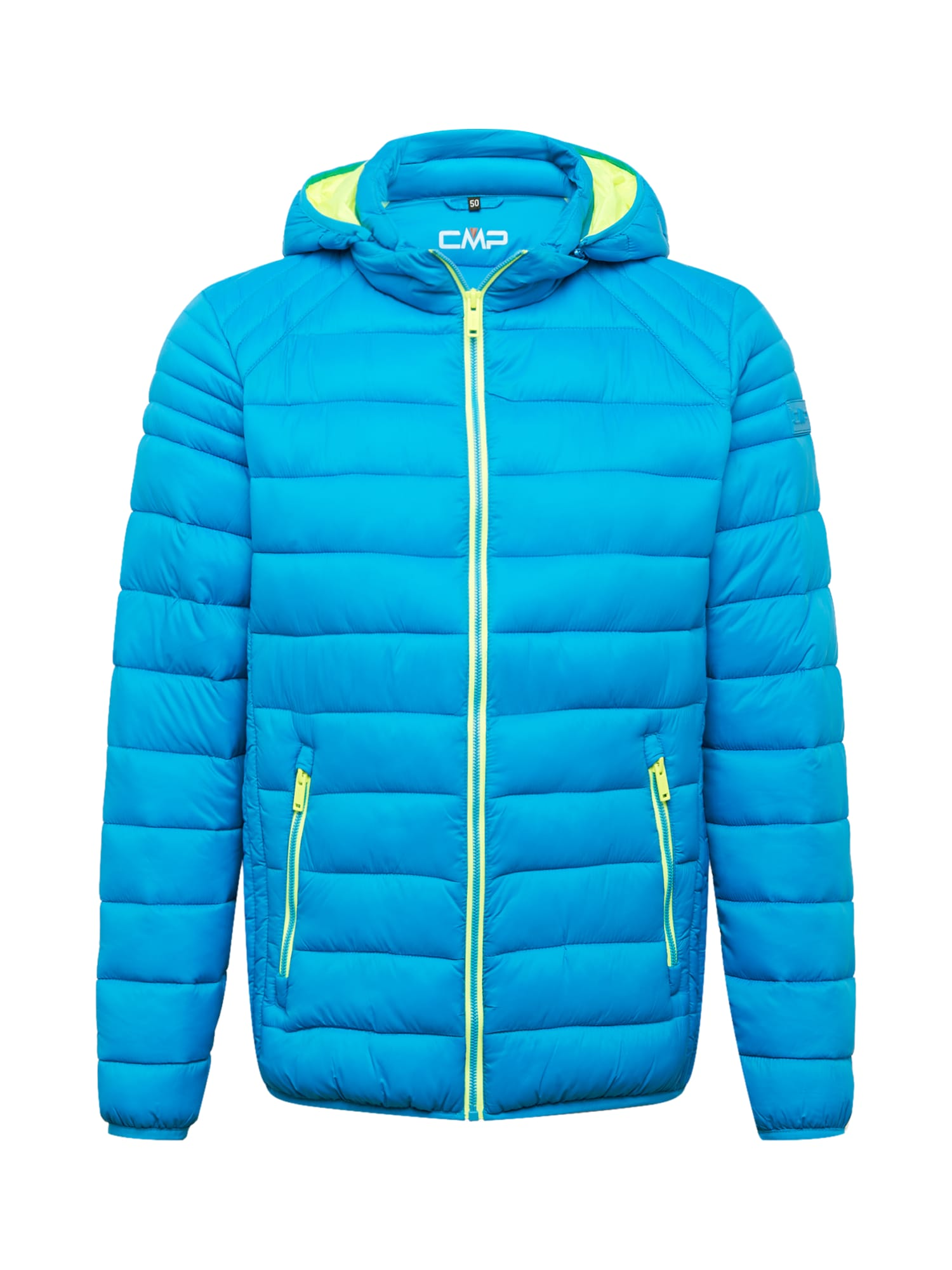 CMP Prechodná bunda  modrá / limetová